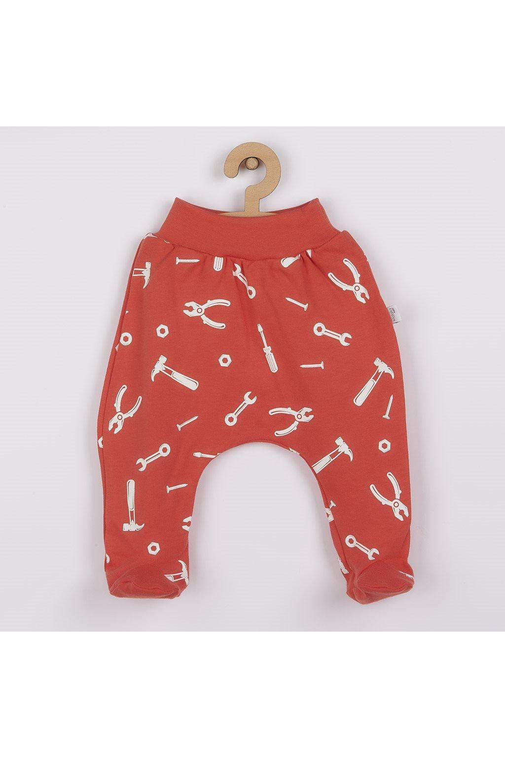 Dojčenské bavlnené polodupačky Repair dark peach