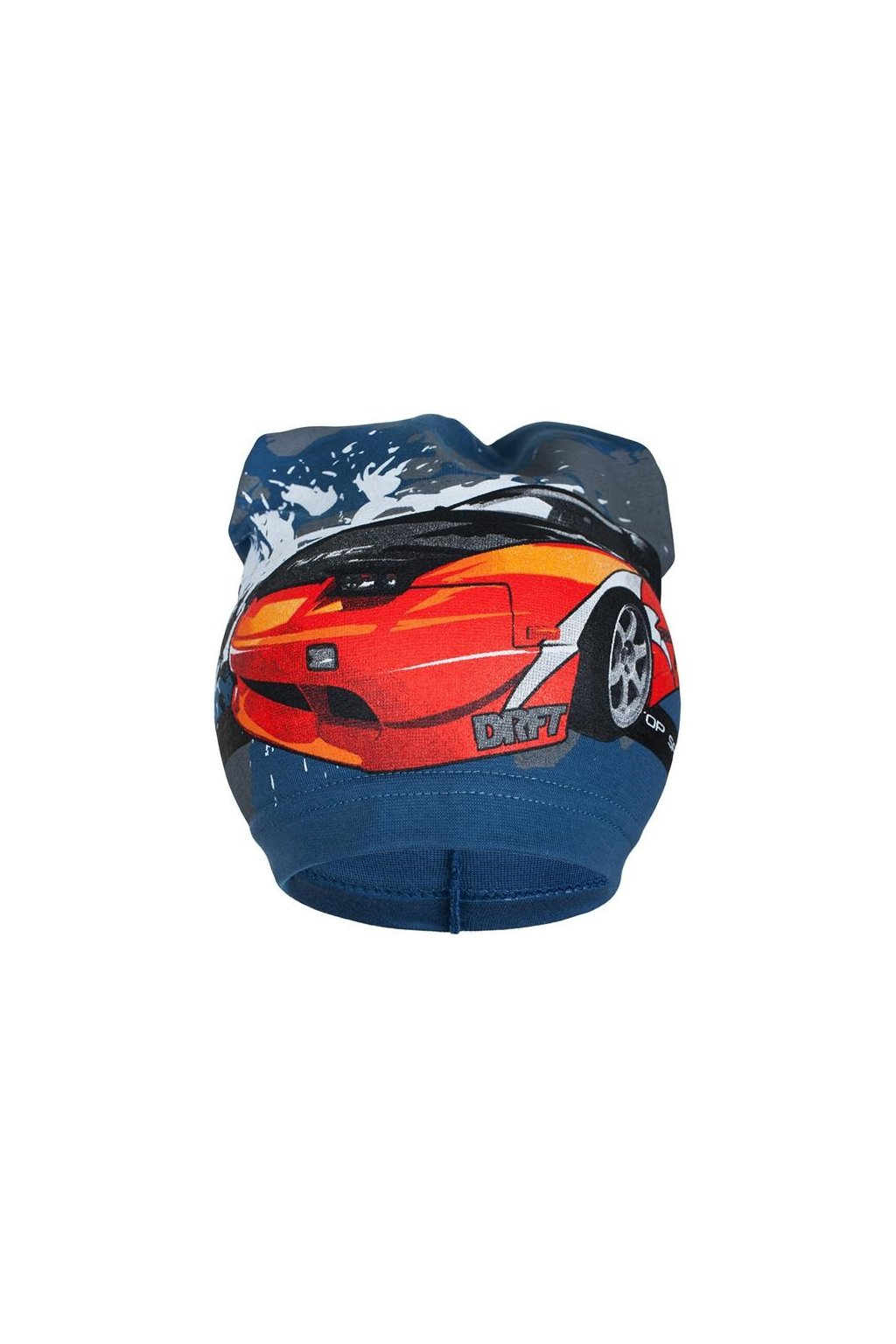 Jarná detská čiapočka New Baby auto modrá