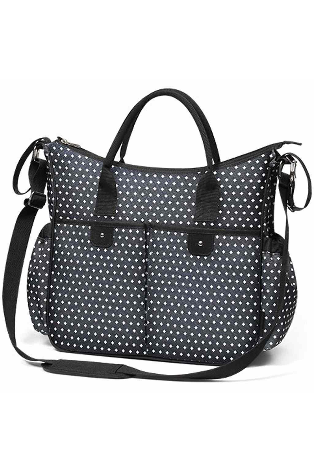 Štýlová taška na kočík BASIC SO CITY Baby Ono čierno biela