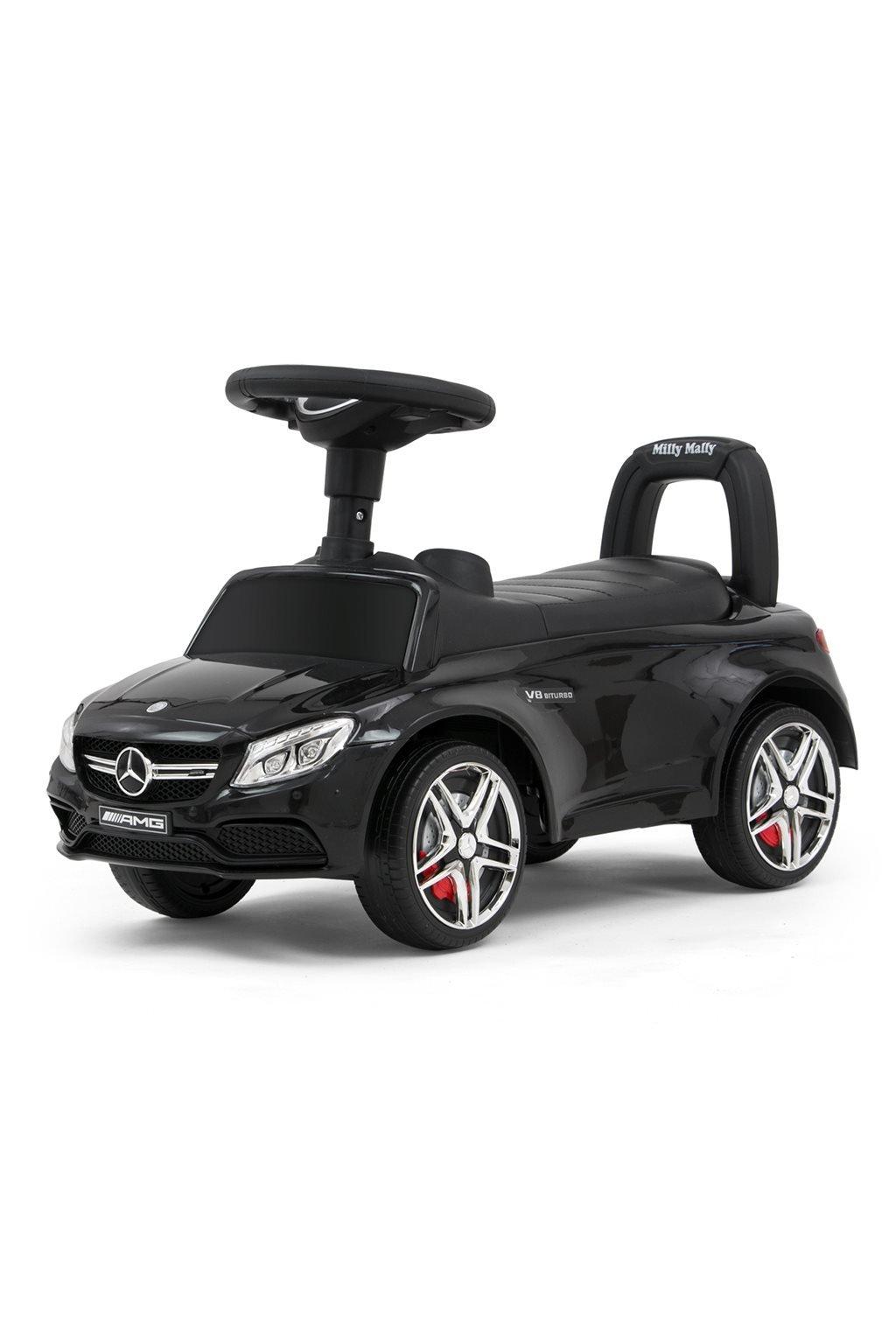 Detské odrážadlo Mercedes Benz AMG C63 Coupe Milly Mally black