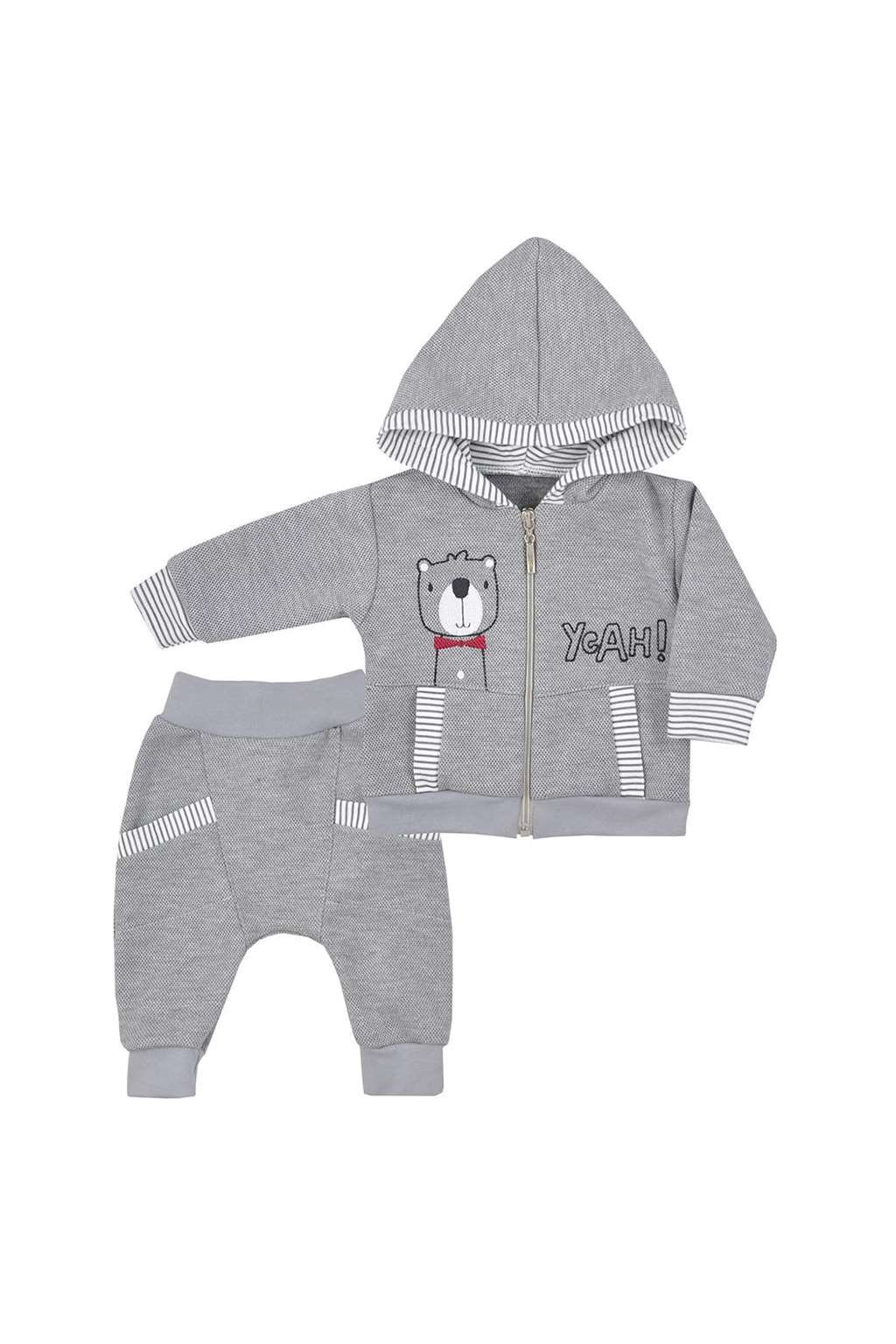 Dojčenské tepláčky a mikinka s kapucňou Koala Yeah
