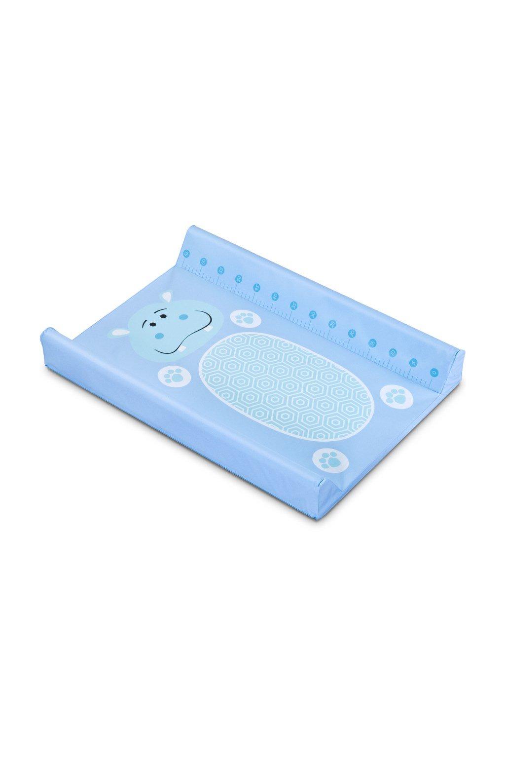 Prebaľovacia podložka Sensillo Hippo modrá