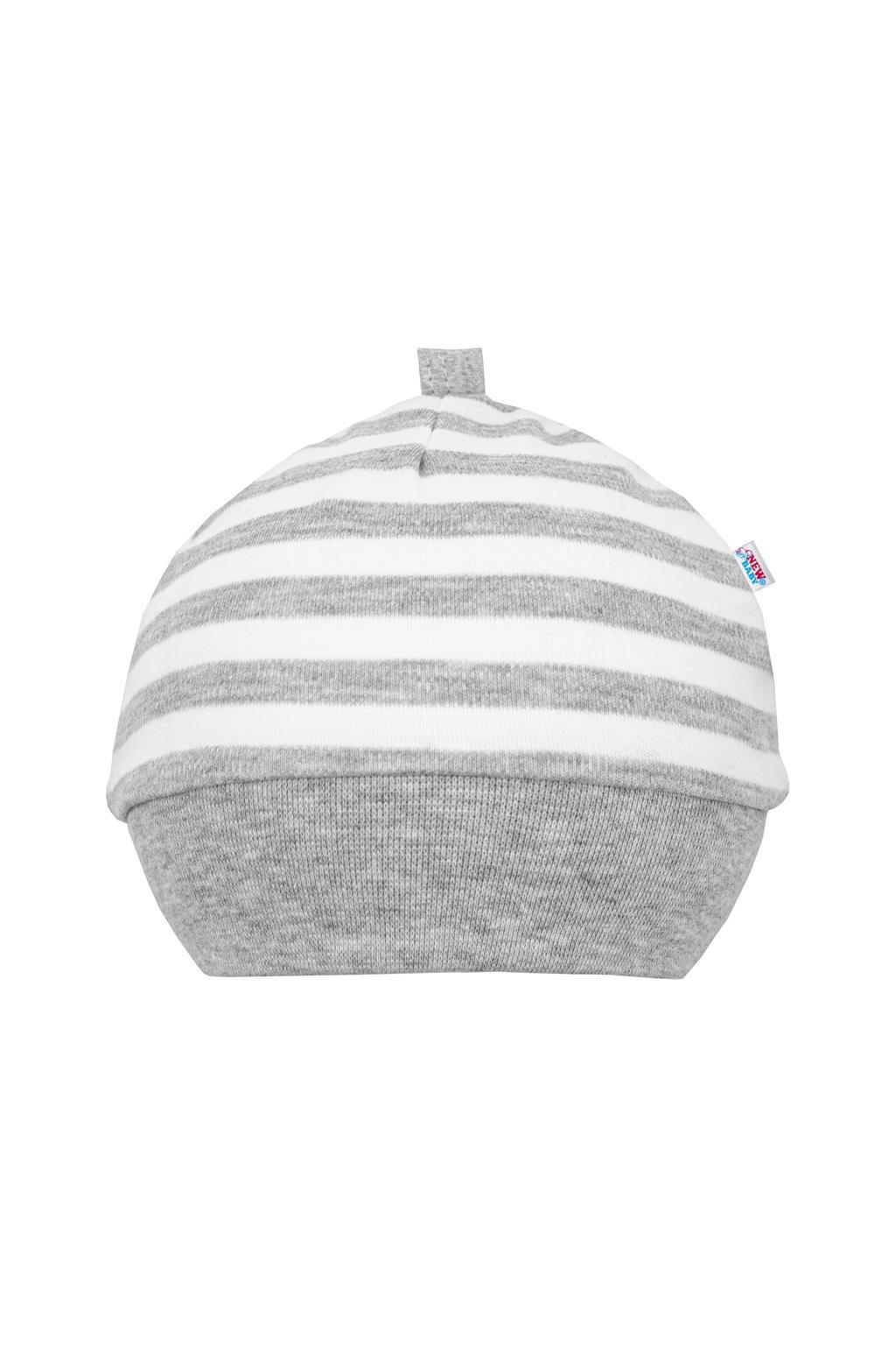 Dojčenská bavlnená čiapočka New Baby Zebra exclusive