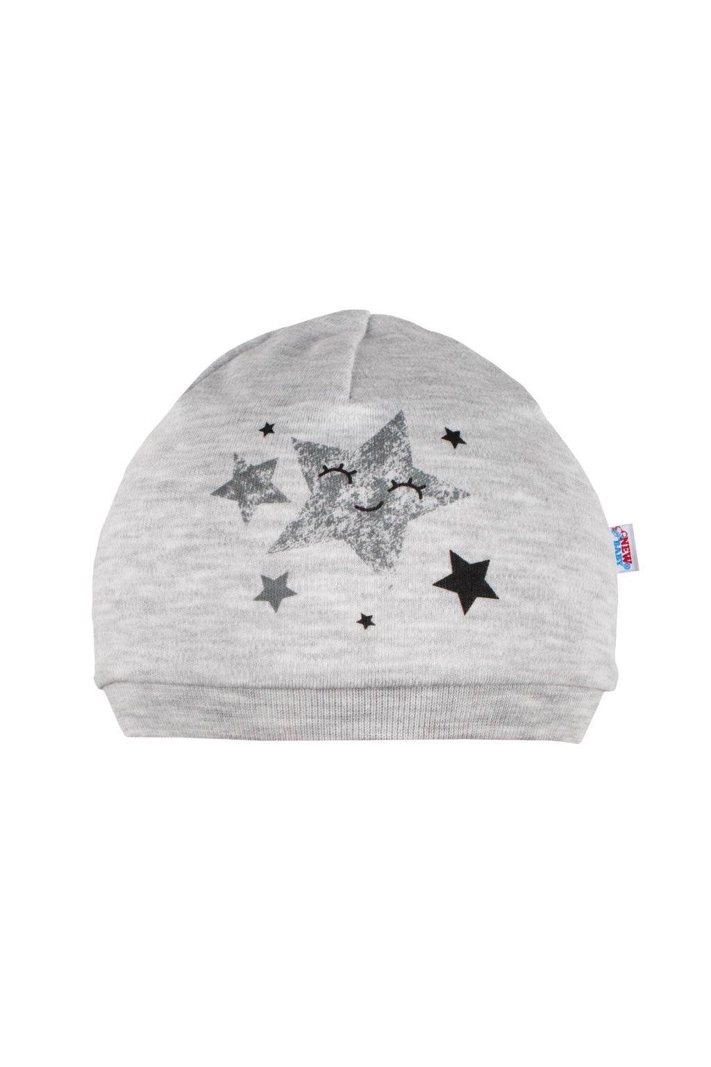 Dojčenské čiapočka New Baby Stars