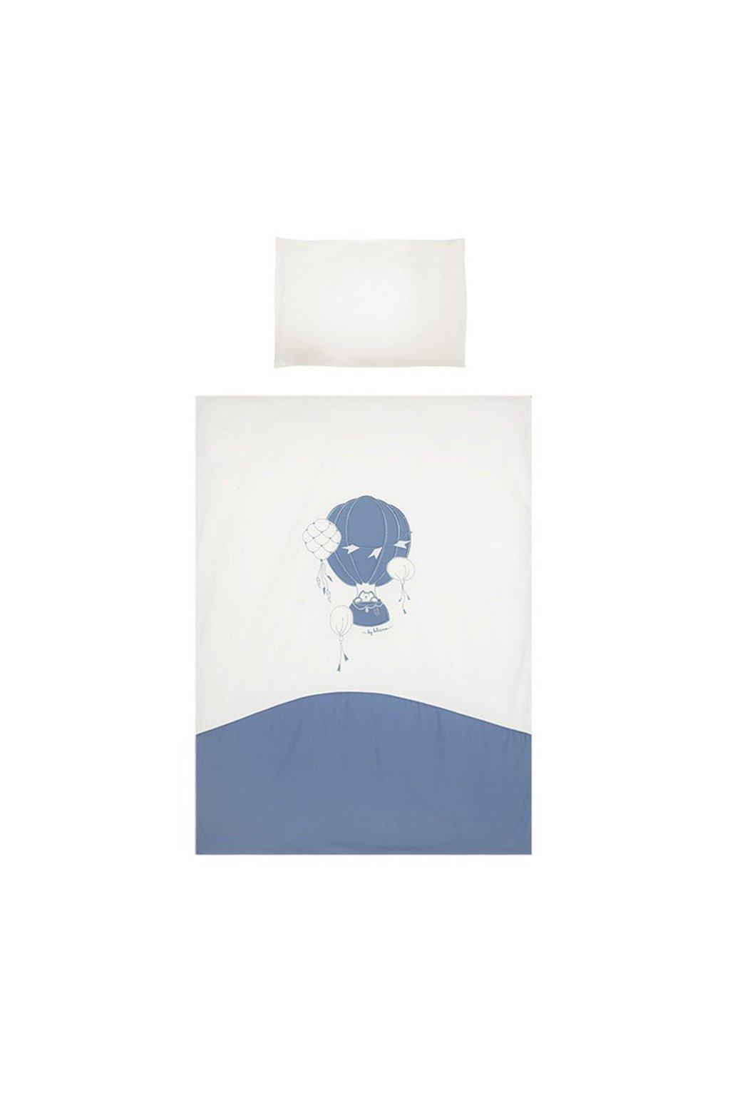 3-dielne posteľné obliečky Belisima Ballons 100/135 modré