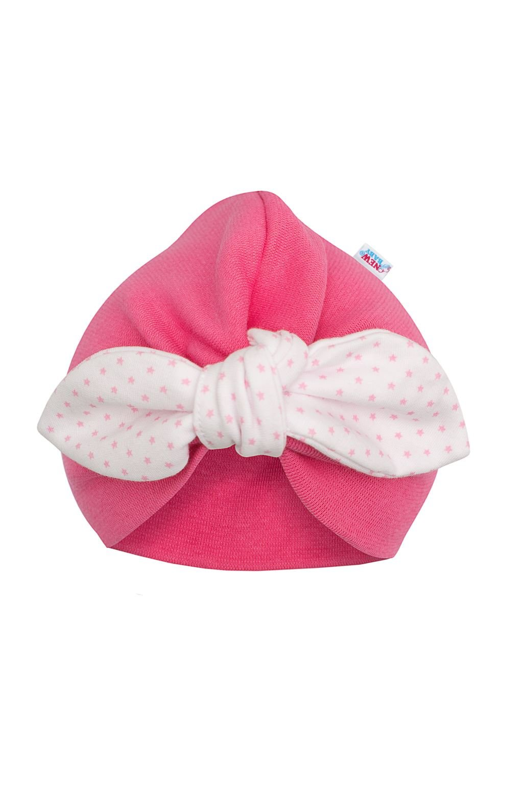 Dievčenská čiapočka turban New Baby For Girls dots