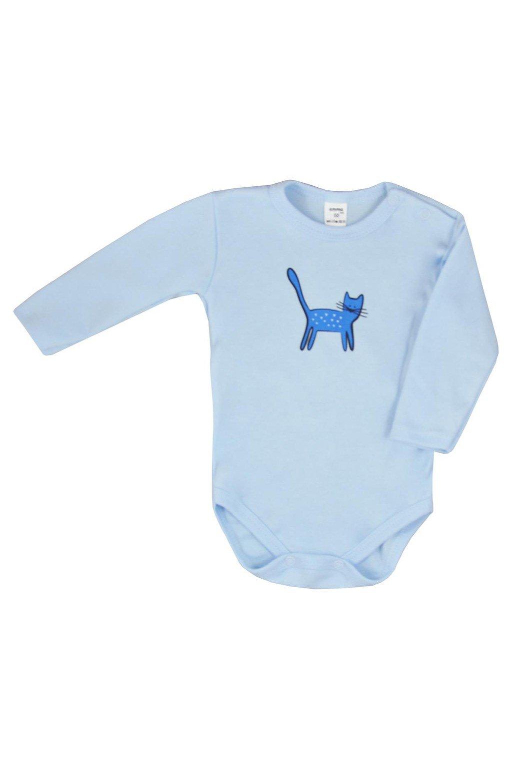 Dojčenské body s dlhým rukávom Koala Cute animals modré