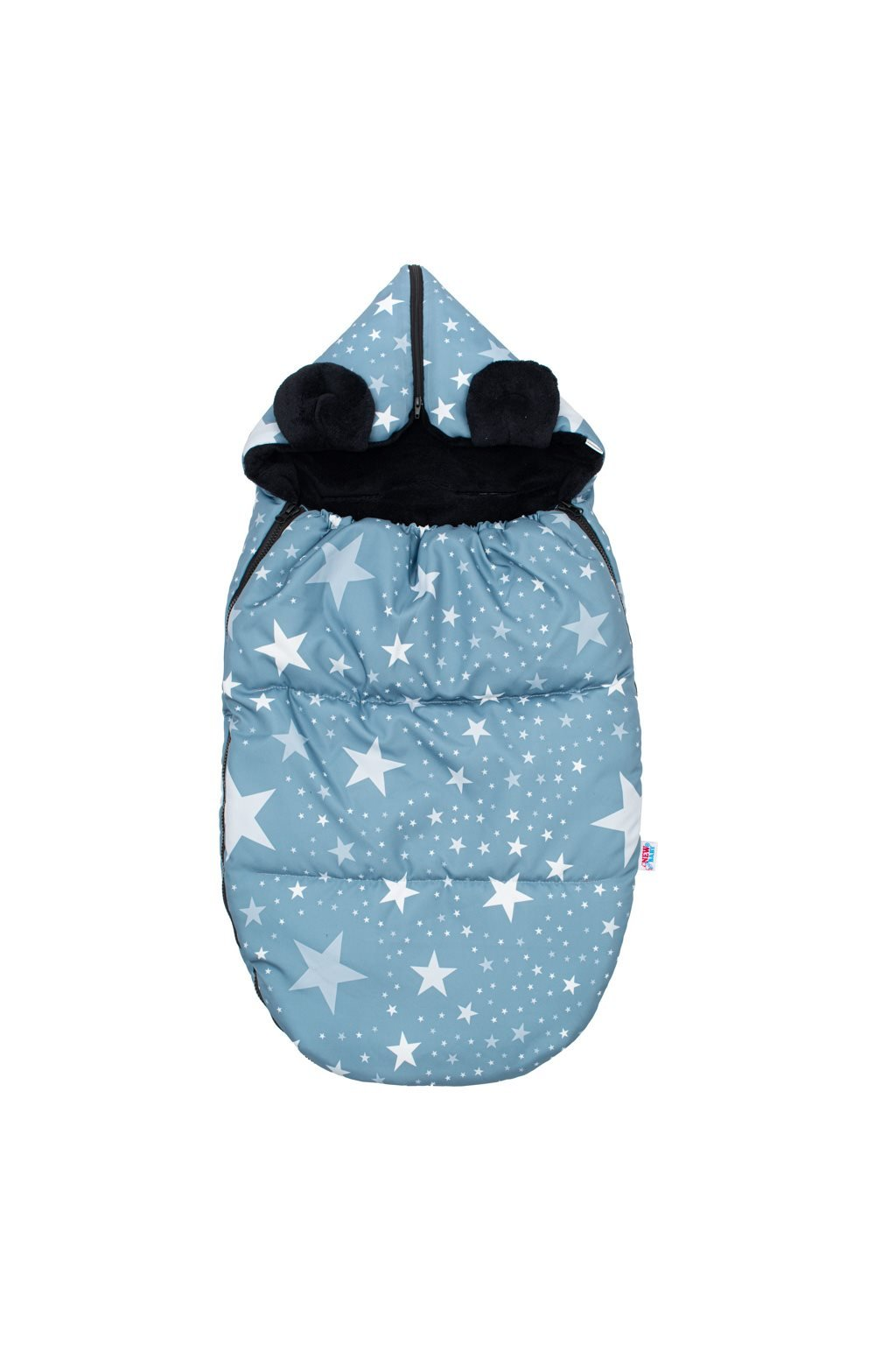 Luxusný fusak New Baby Hviezdičky