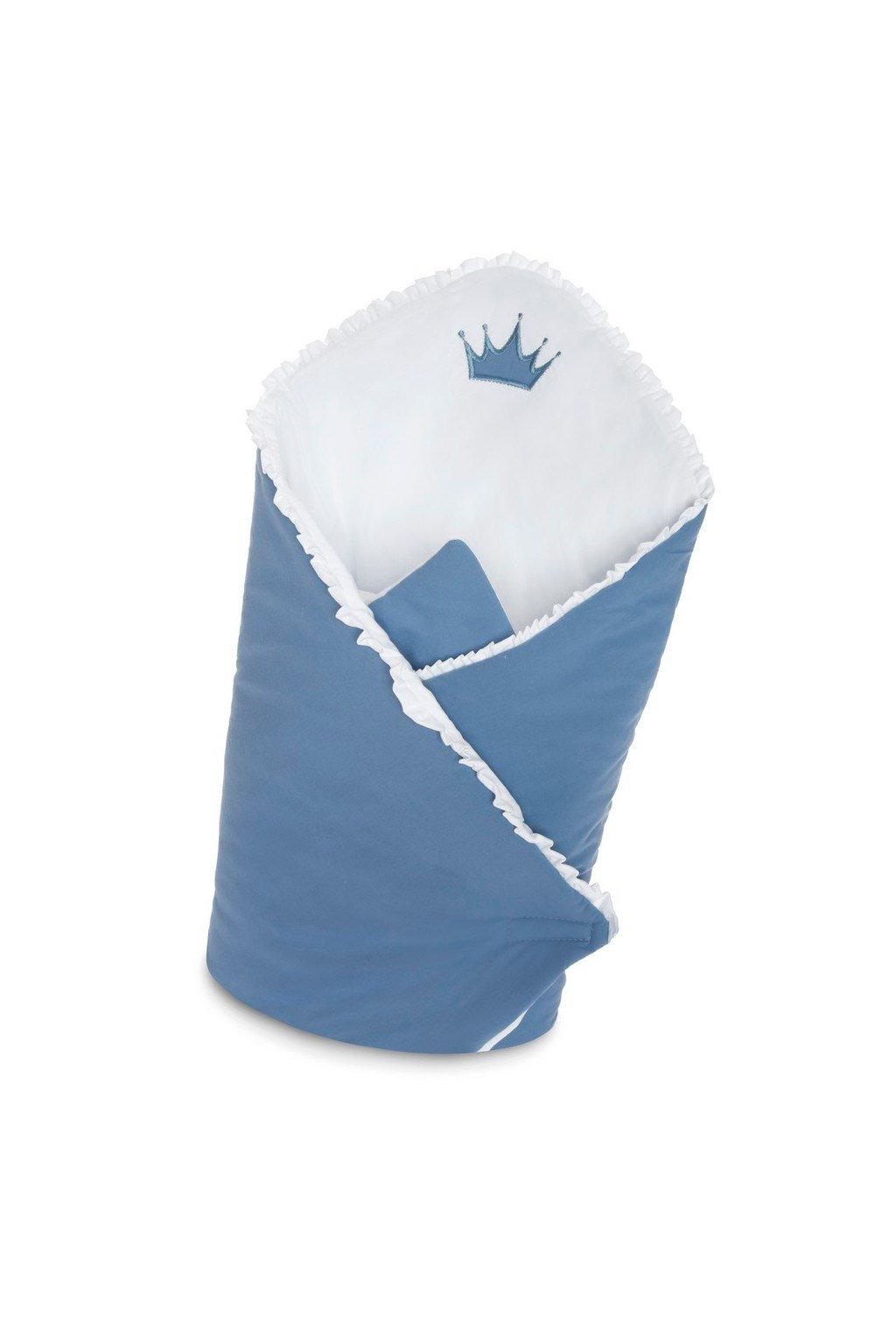 Zavinovačka s výstužou Belisima Royal Baby modrá