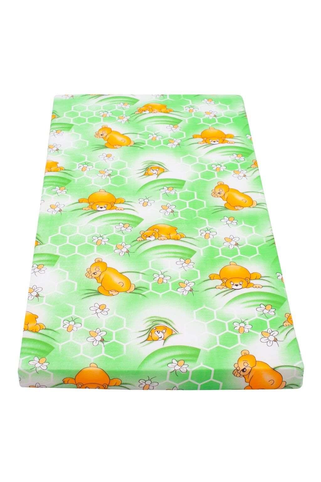 Detský matrac New Baby 120x60 molitan-kokos zelený obrázky