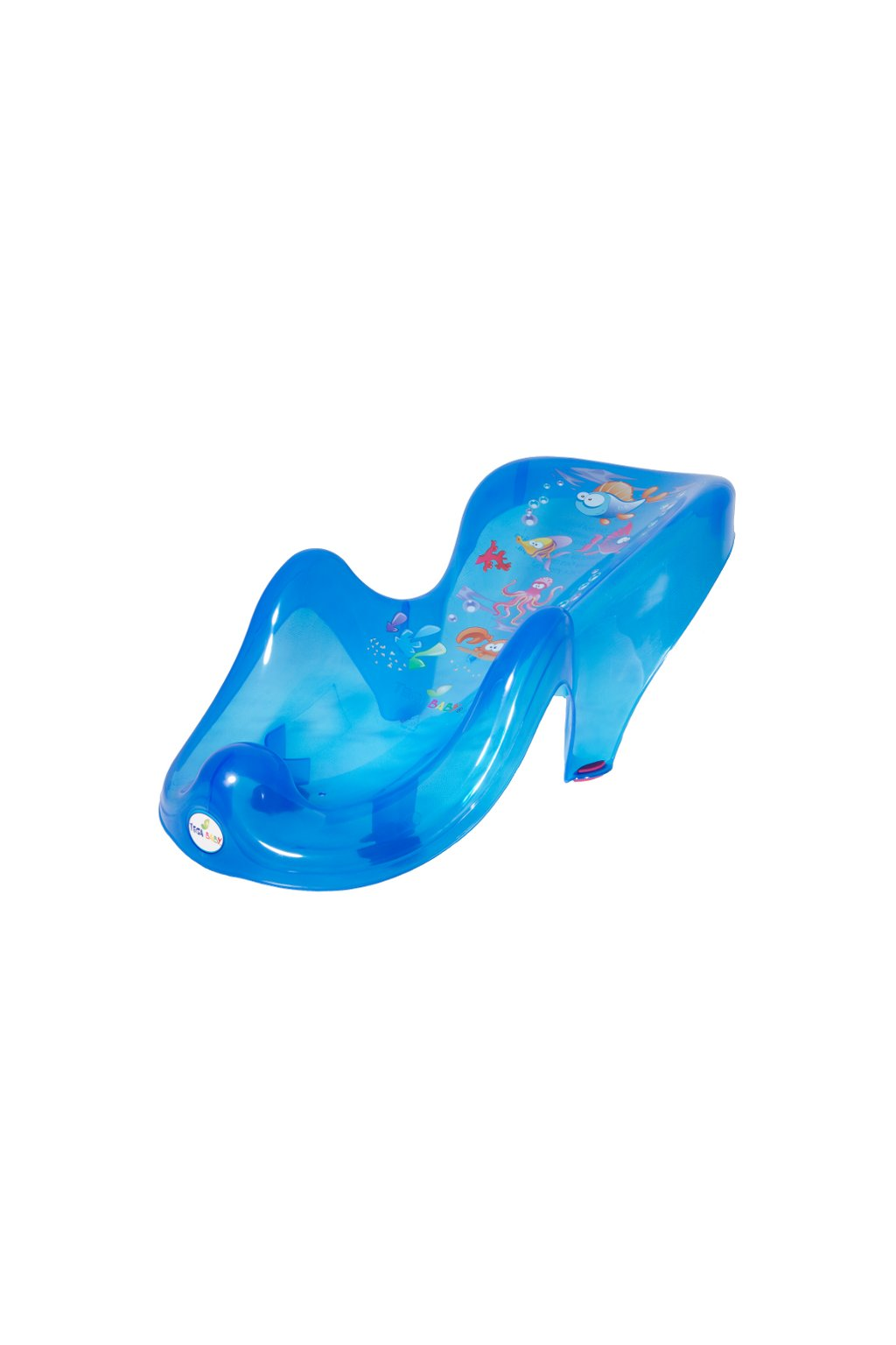 Lehátko na kúpanie aqua modré