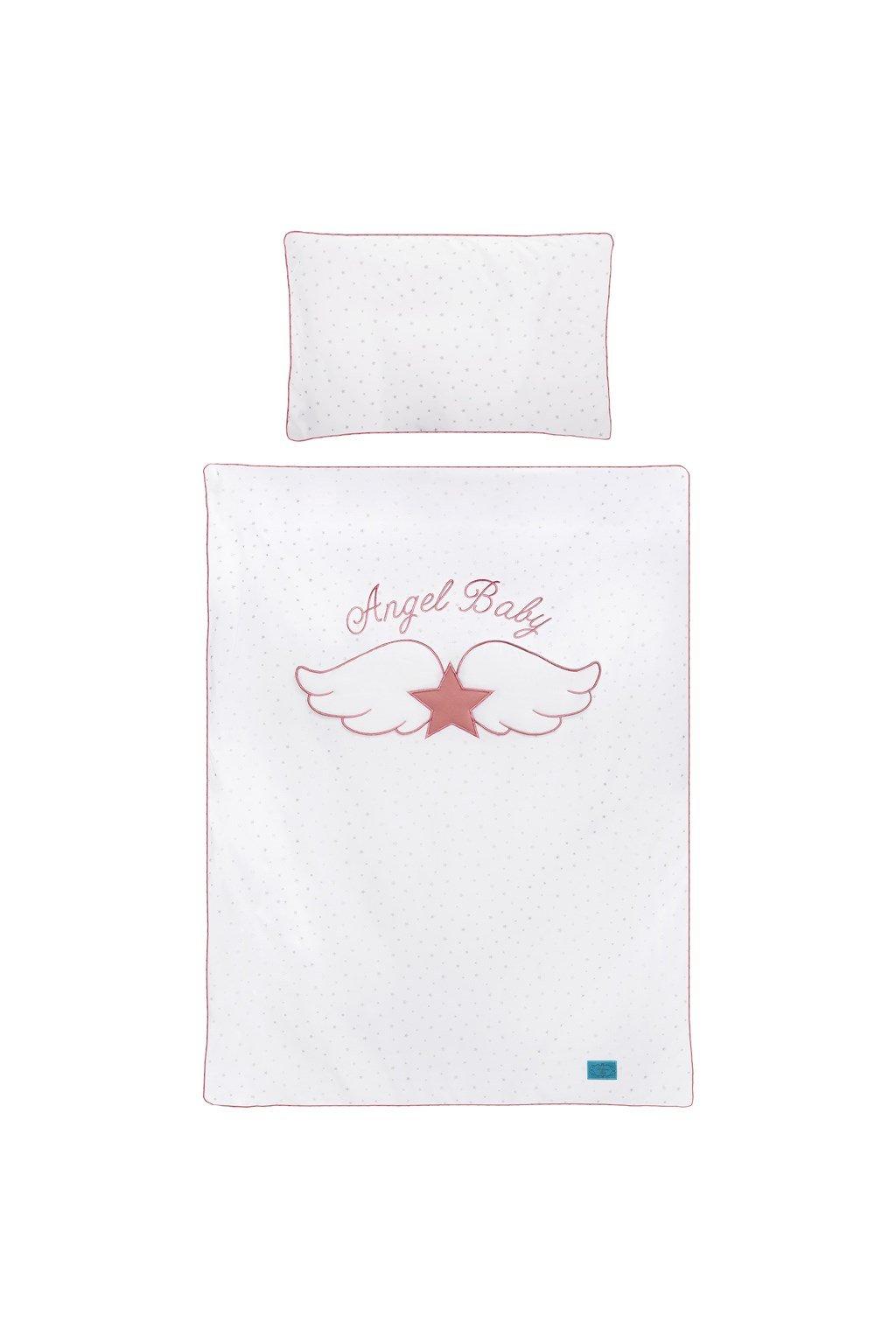 5-dielne posteľné obliečky Belisima Angel Baby 100/135 ružové