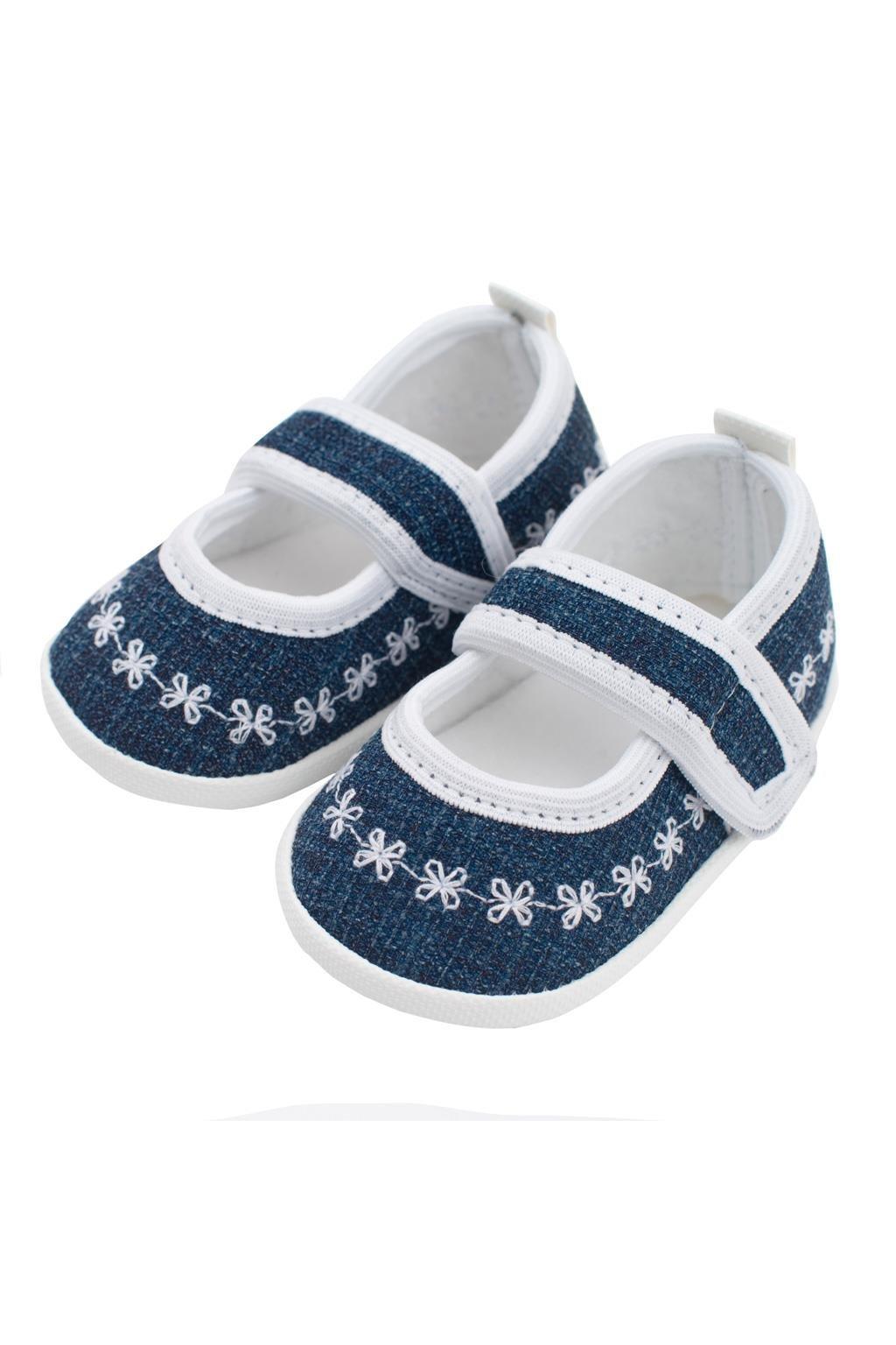 Dojčenské capačky New Baby Jeans biele 0-3 m