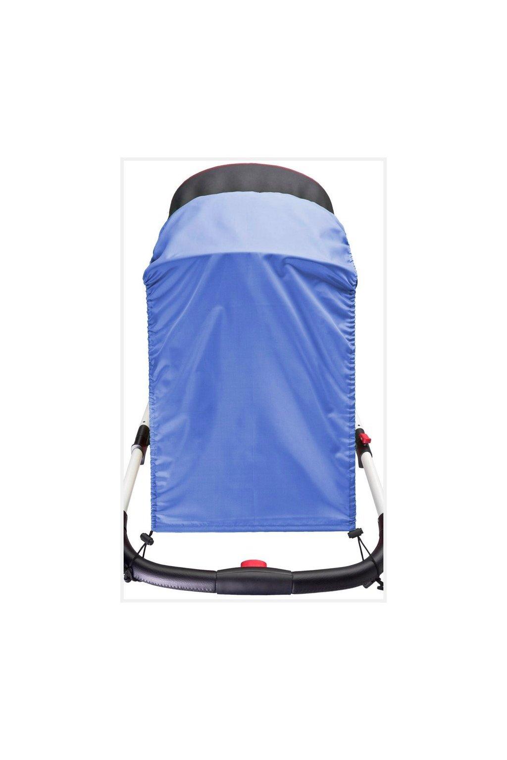 Slnečná clona na kočík CARETERO blue