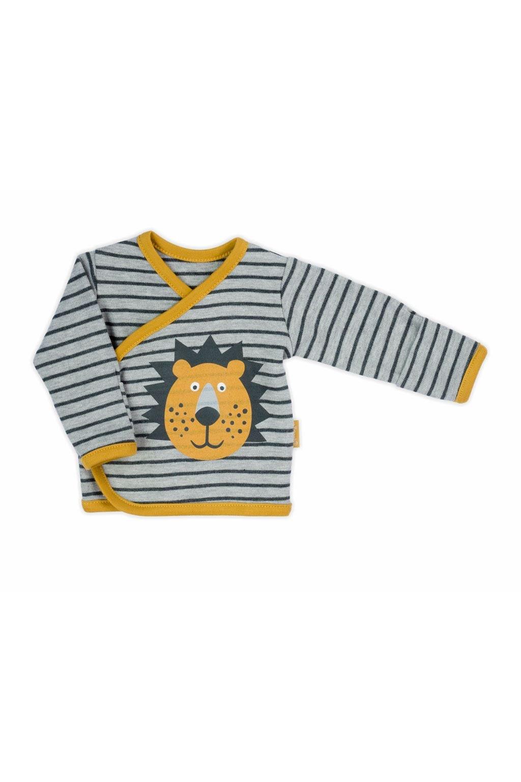 Dojčenská bavlnená košieľka Nicol Prince Lion