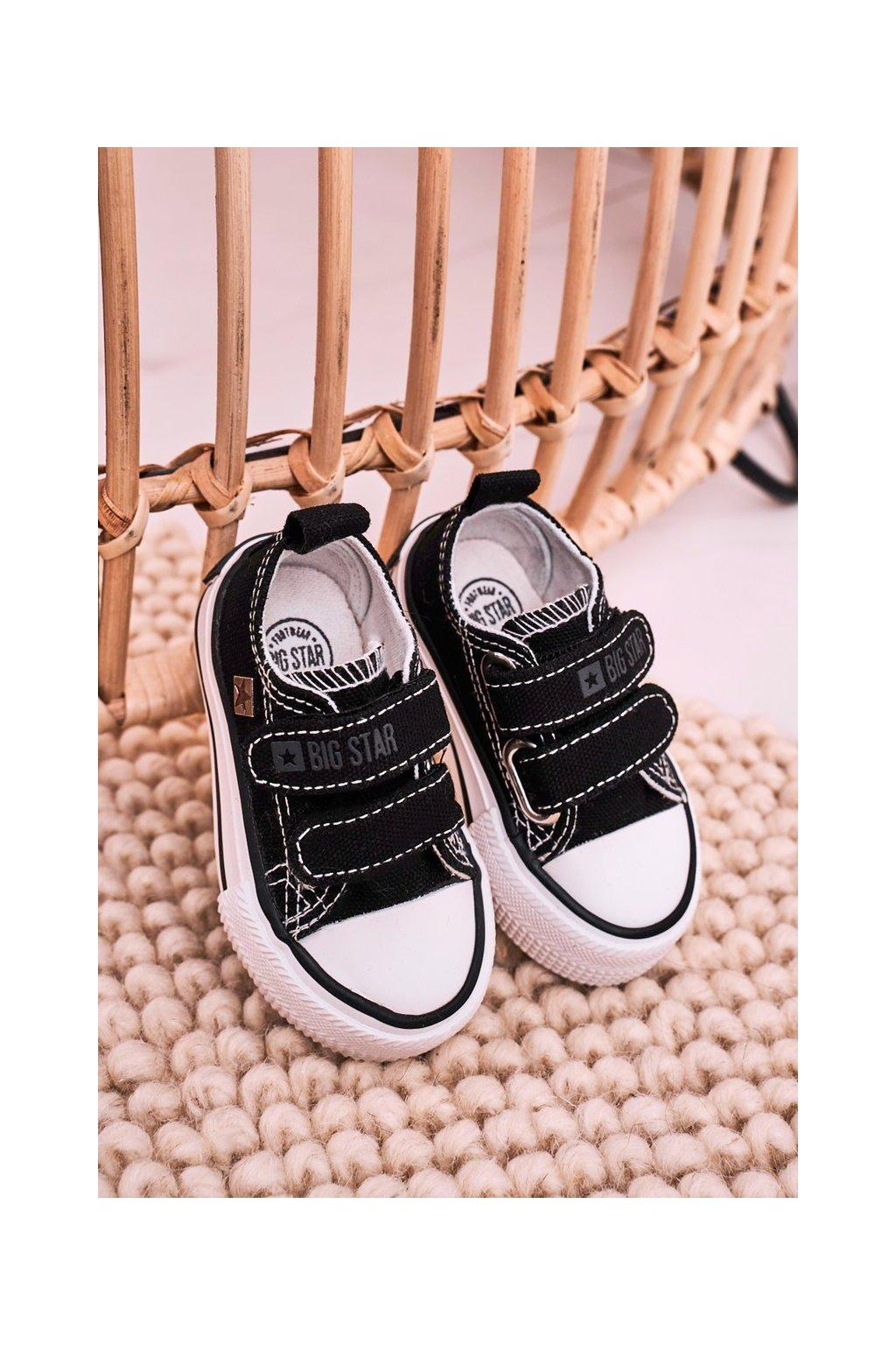 Detské tenisky farba čierna kód obuvi HH374200 BLACK