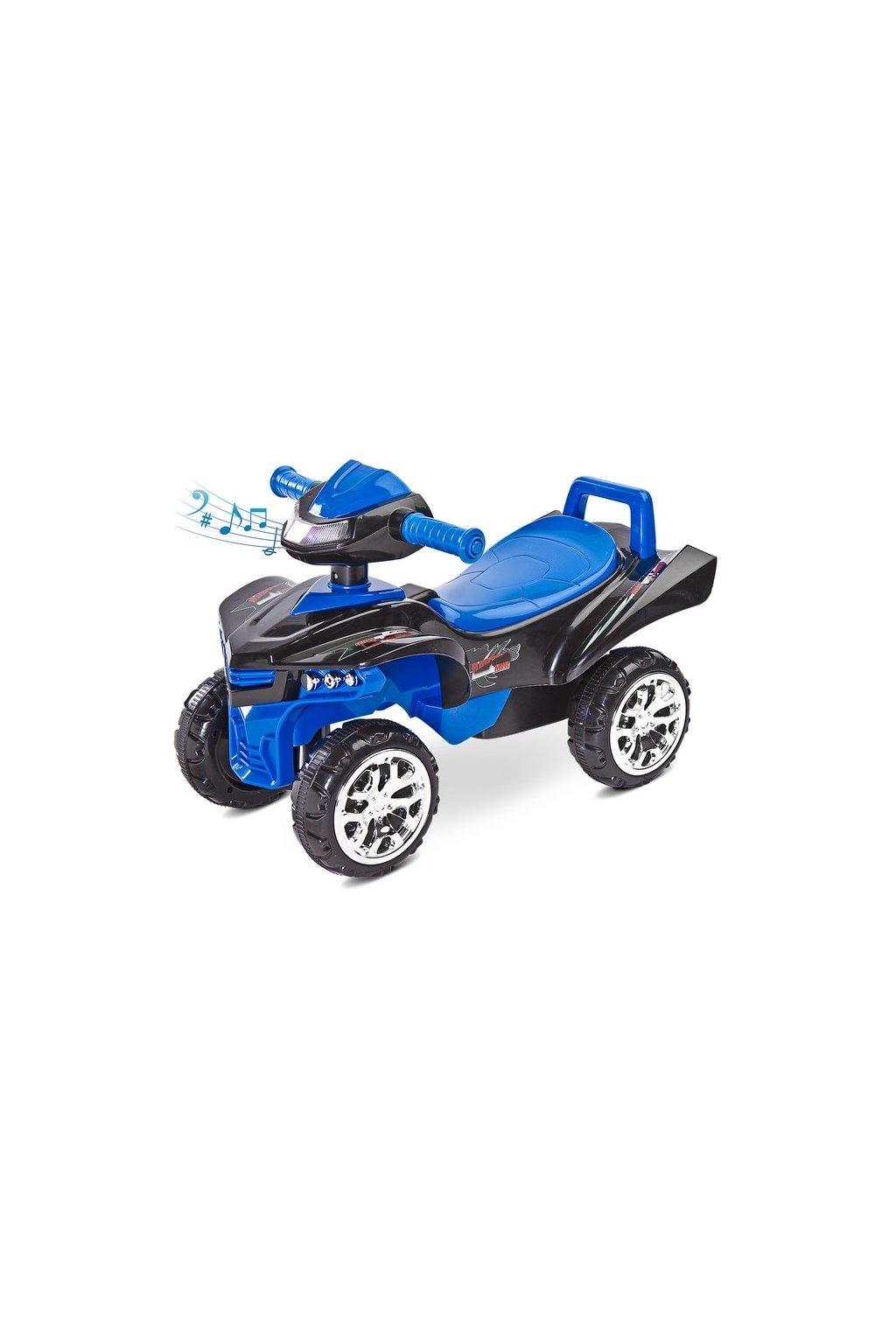 Odrážadlo štvorkolka Toyz miniRaptor modré