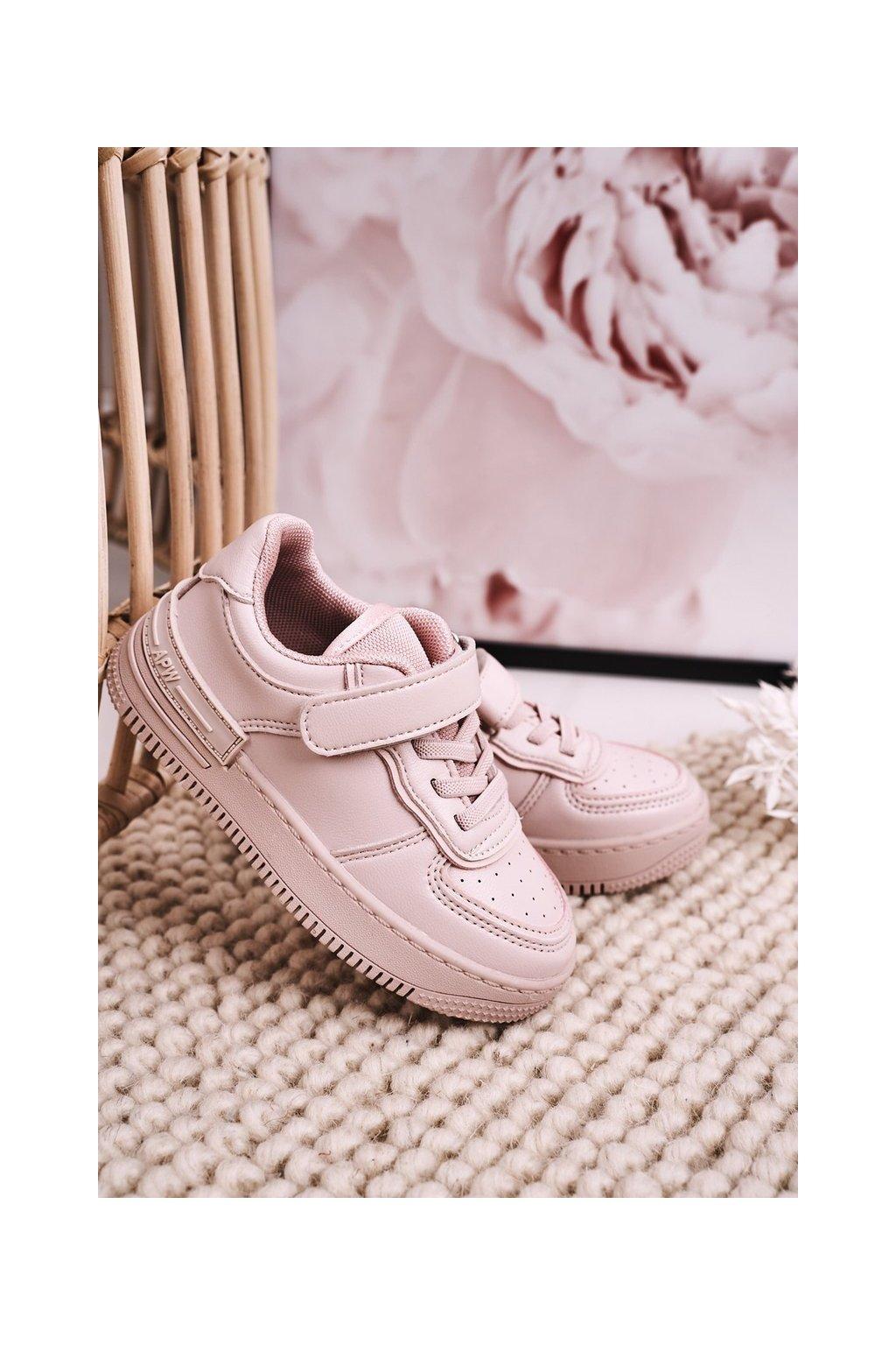 Detské tenisky farba ružová kód obuvi GC12 PINK