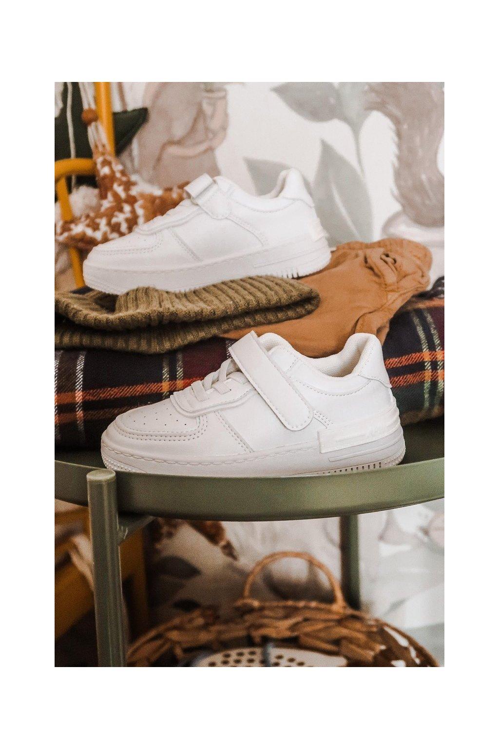 Detské tenisky farba biela kód obuvi GC12 WHITE