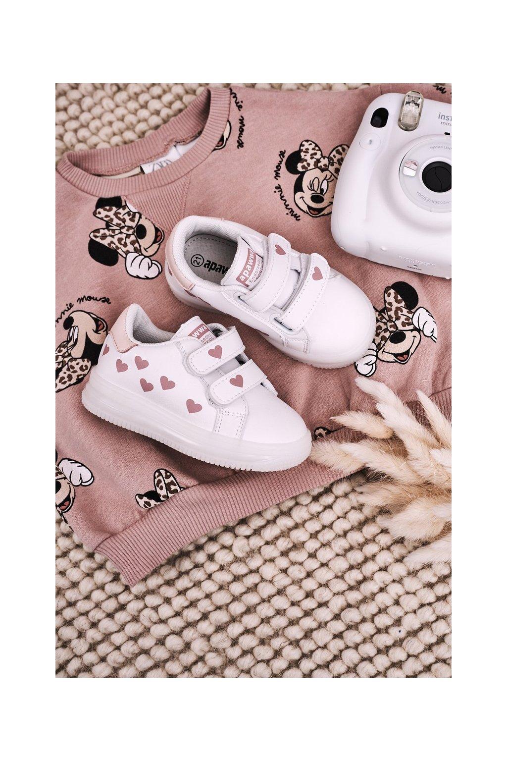 Detské tenisky farba ružová kód obuvi NC58 PINK
