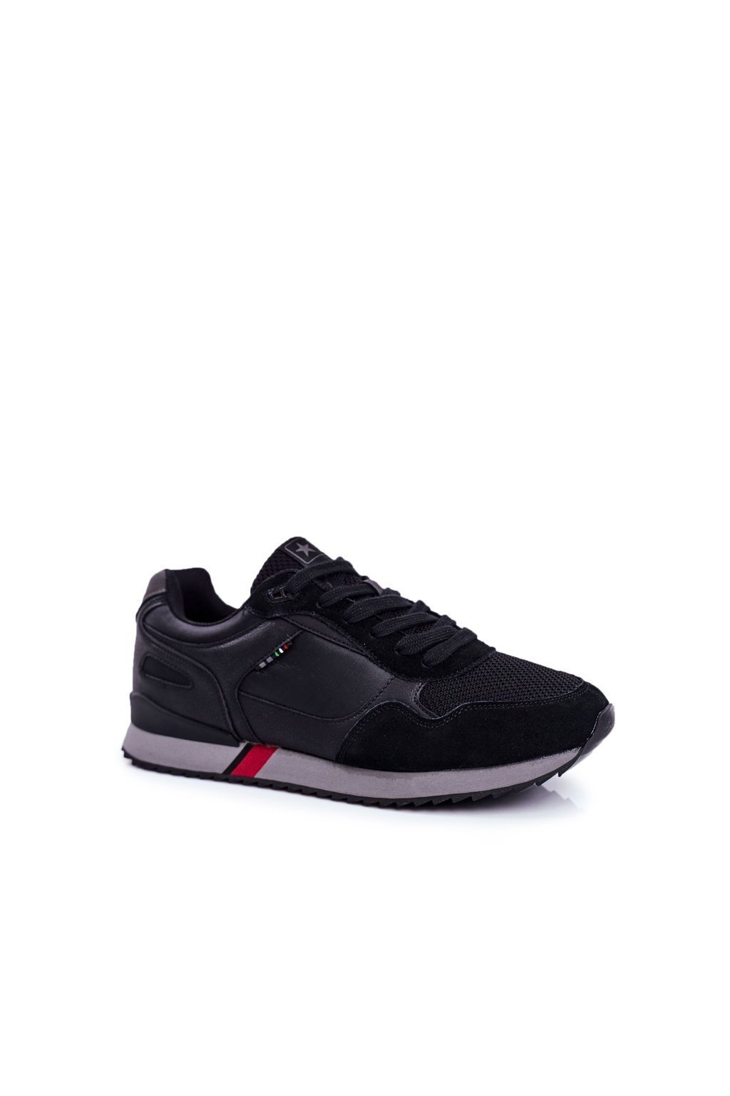 Čierna obuv NJSK 20MN20-2151 BLK