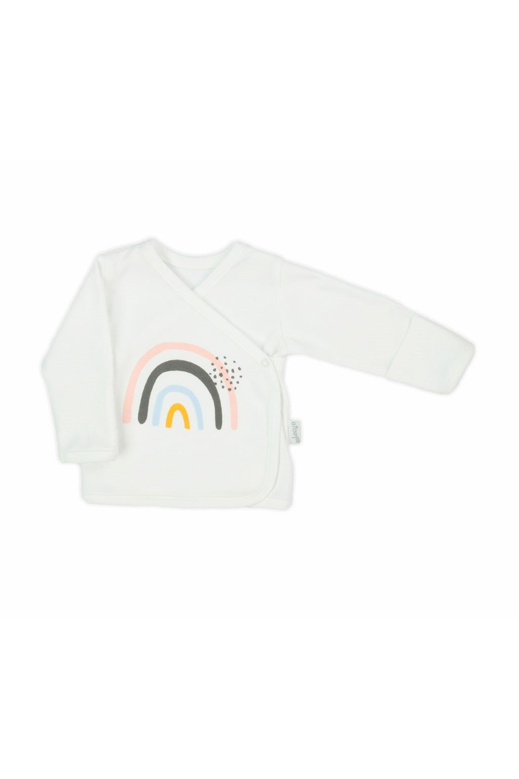 Dojčenská bavlněná košilka Nicol Rainbow