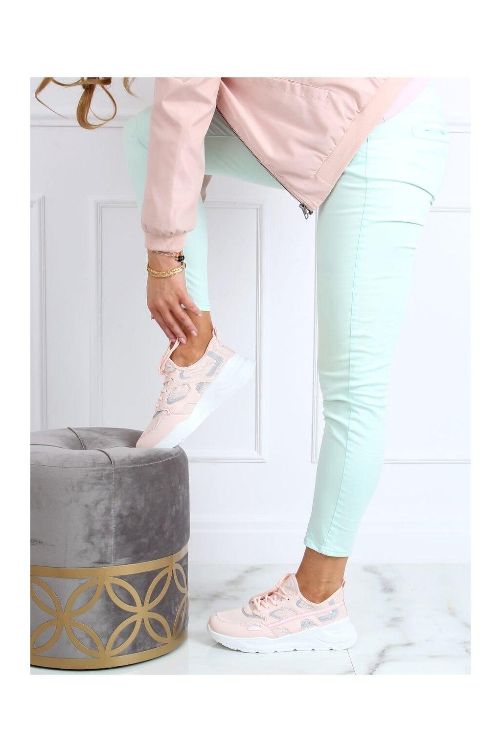 Dámske tenisky ružové B0-560