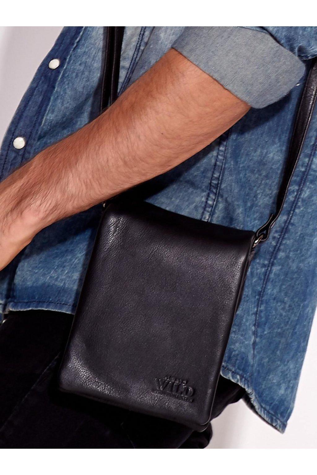 Pánska kabelka čierna kód CE-TR-011-NDM.56