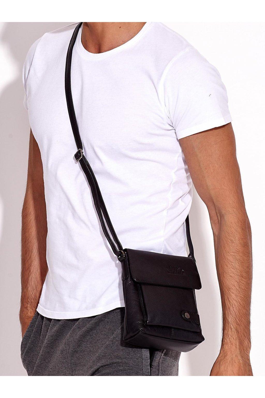 Pánska kabelka čierna kód CE-TR-012-NDM.25