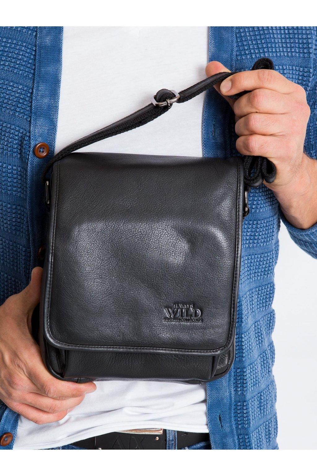 Pánska kabelka čierna kód CE-TR-015-NDM.95