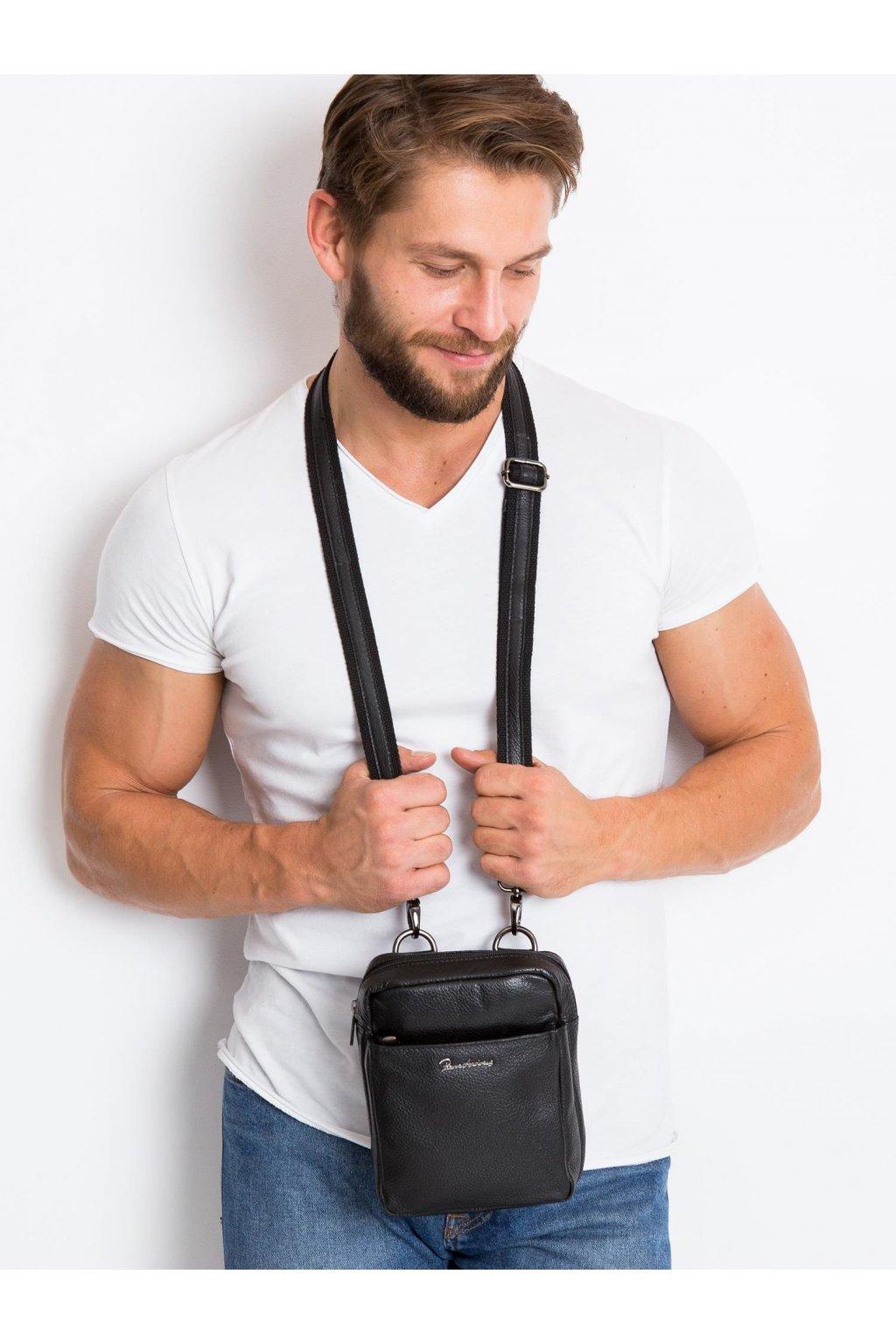 Pánska kabelka čierna kód CE-TR-1707-NDM-PA.17