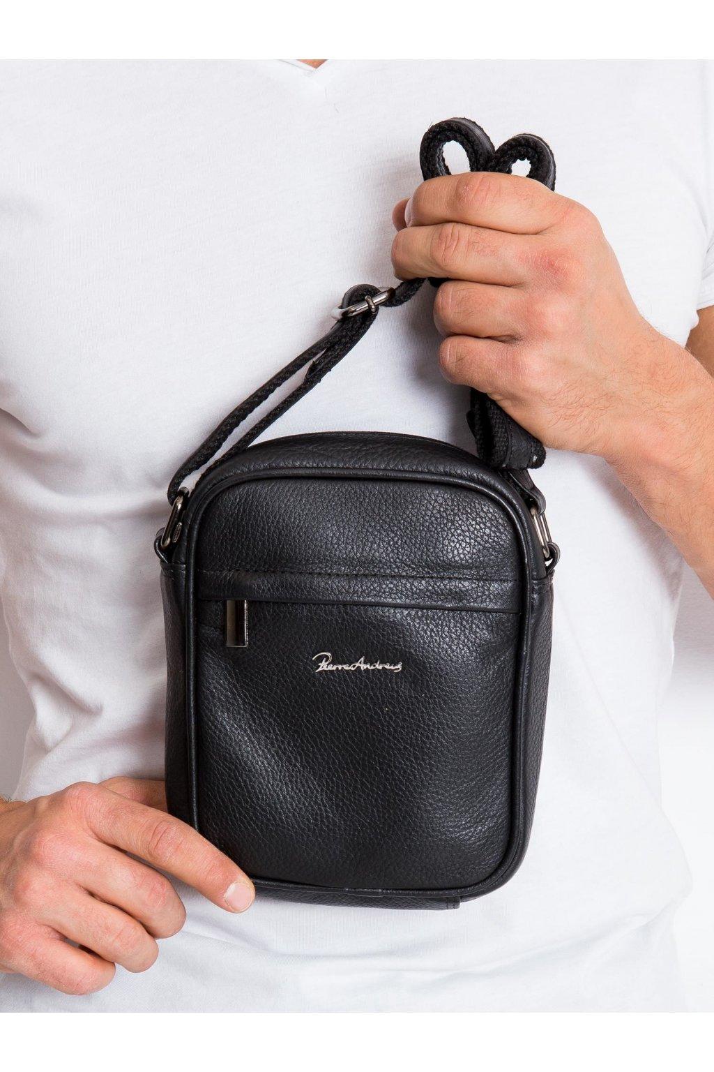 Pánska kabelka čierna kód CE-TR-5021-NDM-PA.90