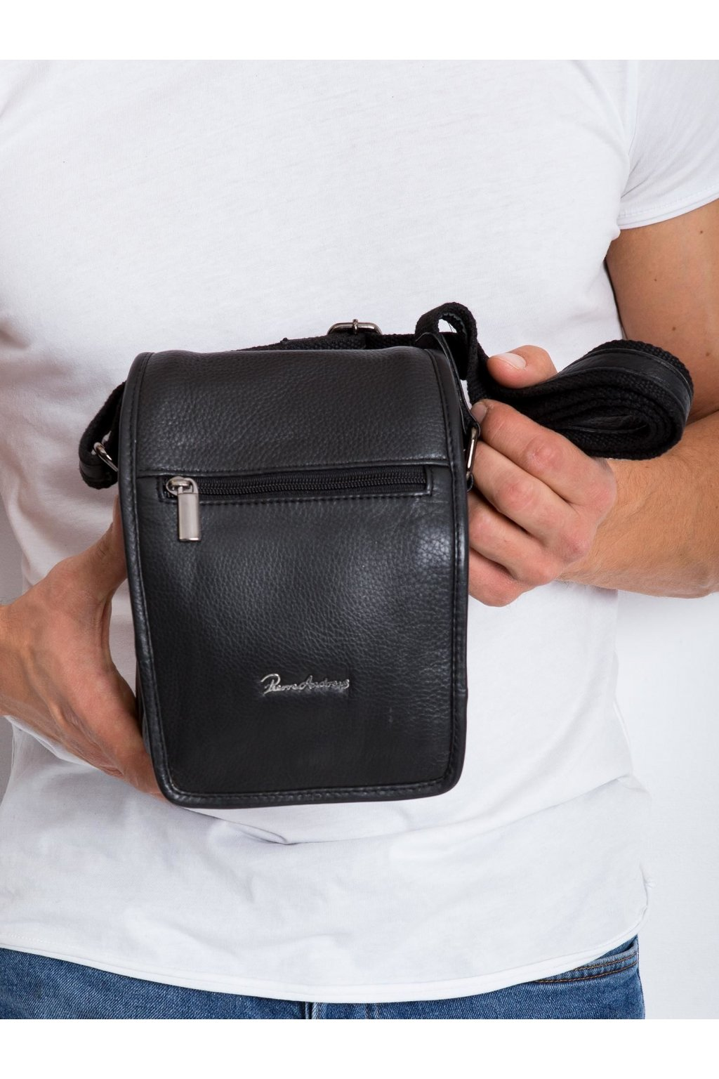 Pánska kabelka čierna kód CE-TR-5047-NDM-PA.95