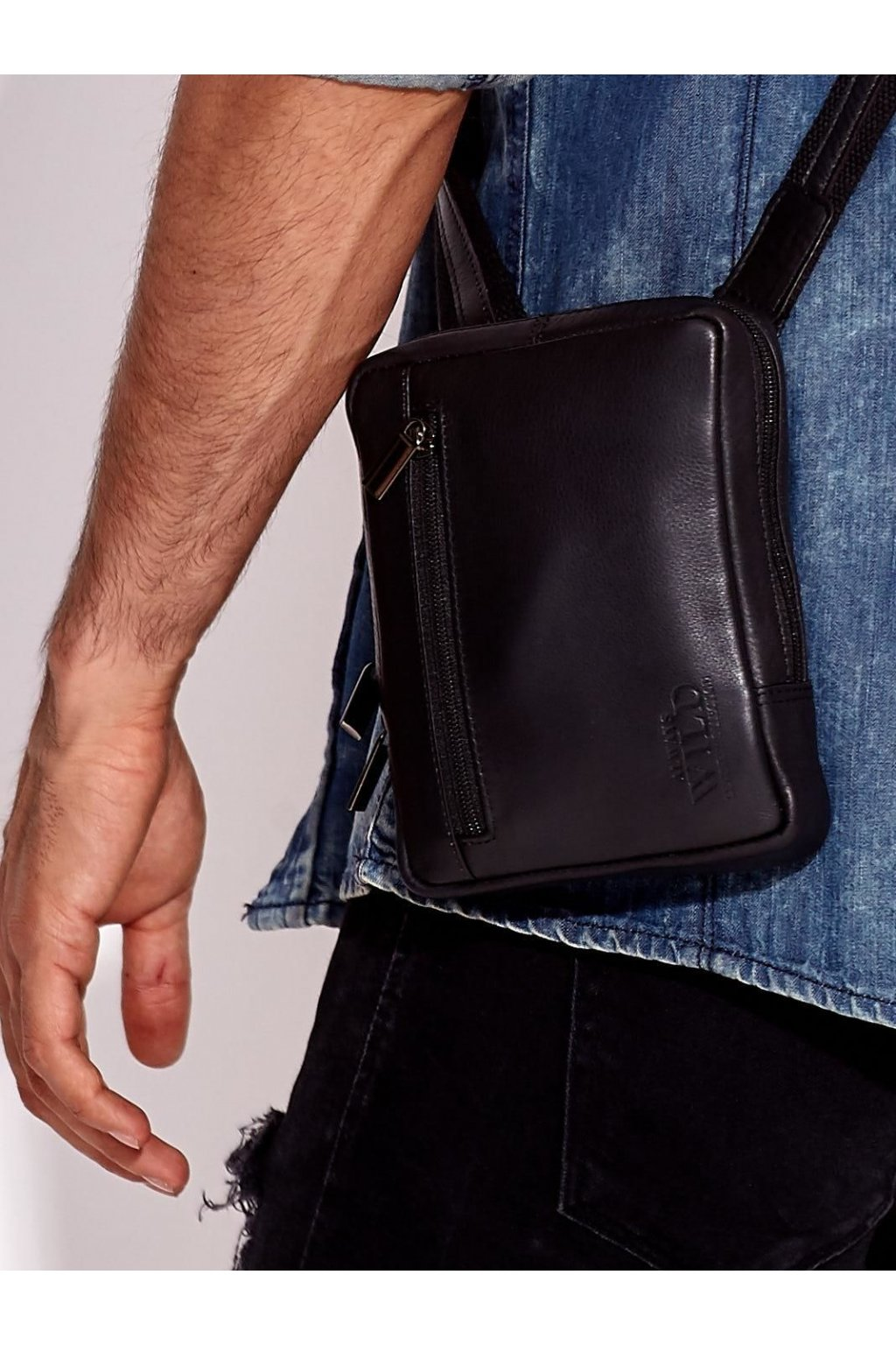 Pánska kabelka čierna kód CE-TR-778-NDM.57