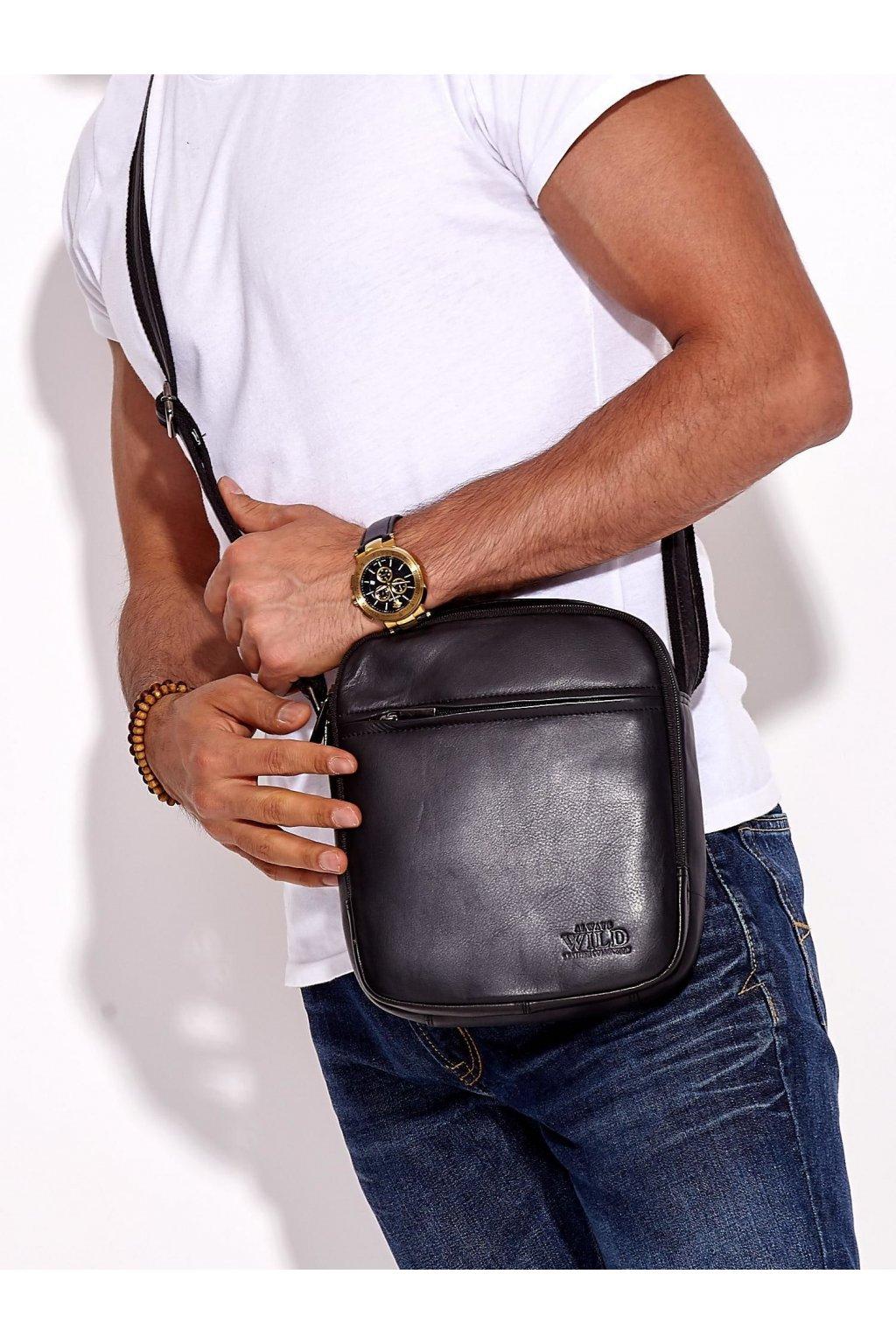 Pánska kabelka čierna kód CE-TR-8021-NDM.27