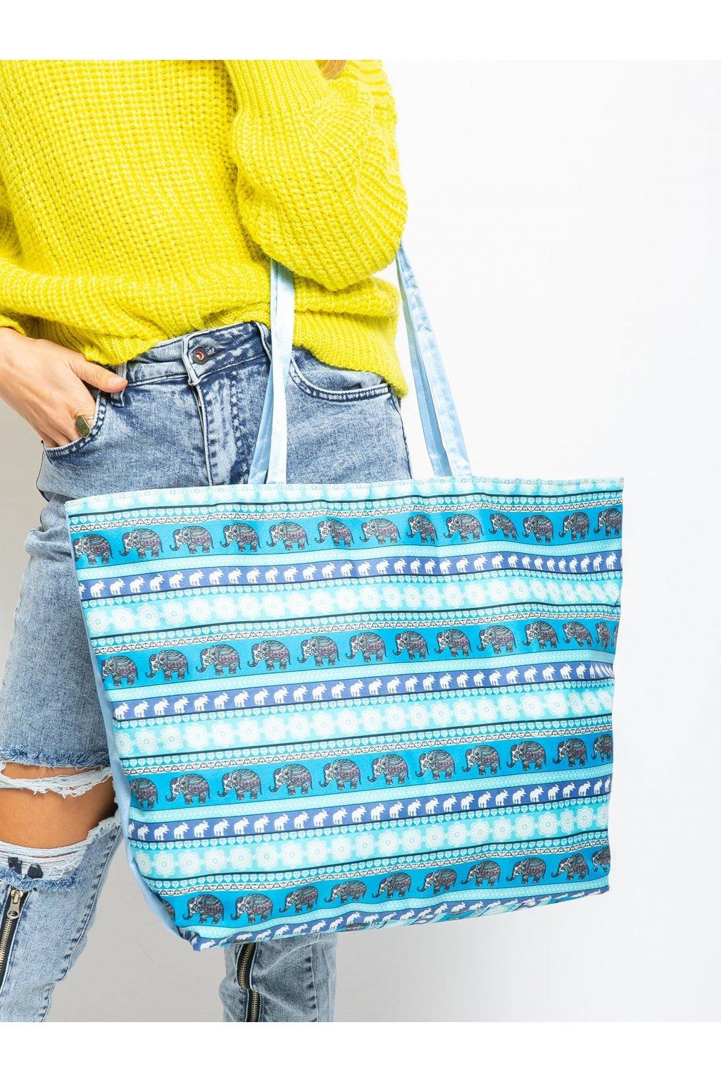 Shopper kabelka modrá kód CE-TR-KODURA.44