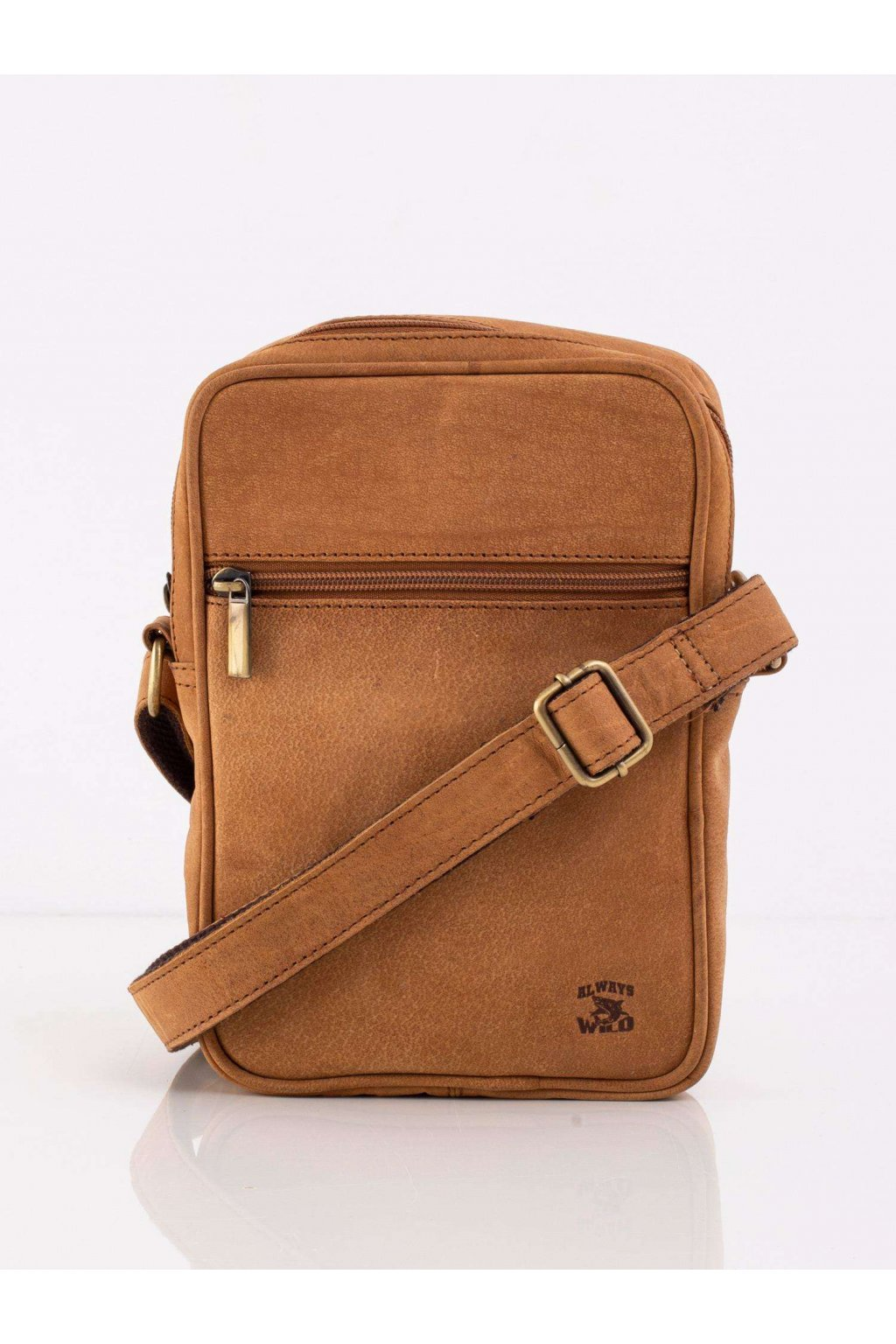 Pánska kabelka hnedá camel kód CE-TR-LB-05-CH