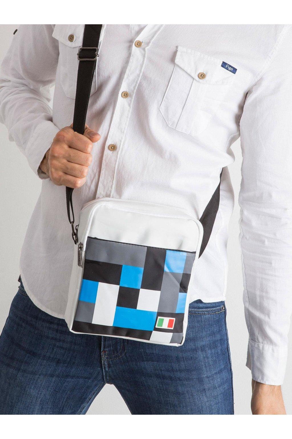 Pánska taška biela kód CE-TR-NL-01-ITALY.86P