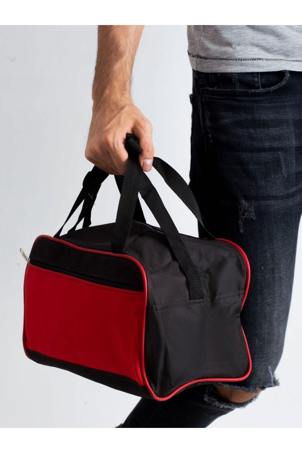 Pánska kabelka červená kód CE-TR-RAY-R1.67P