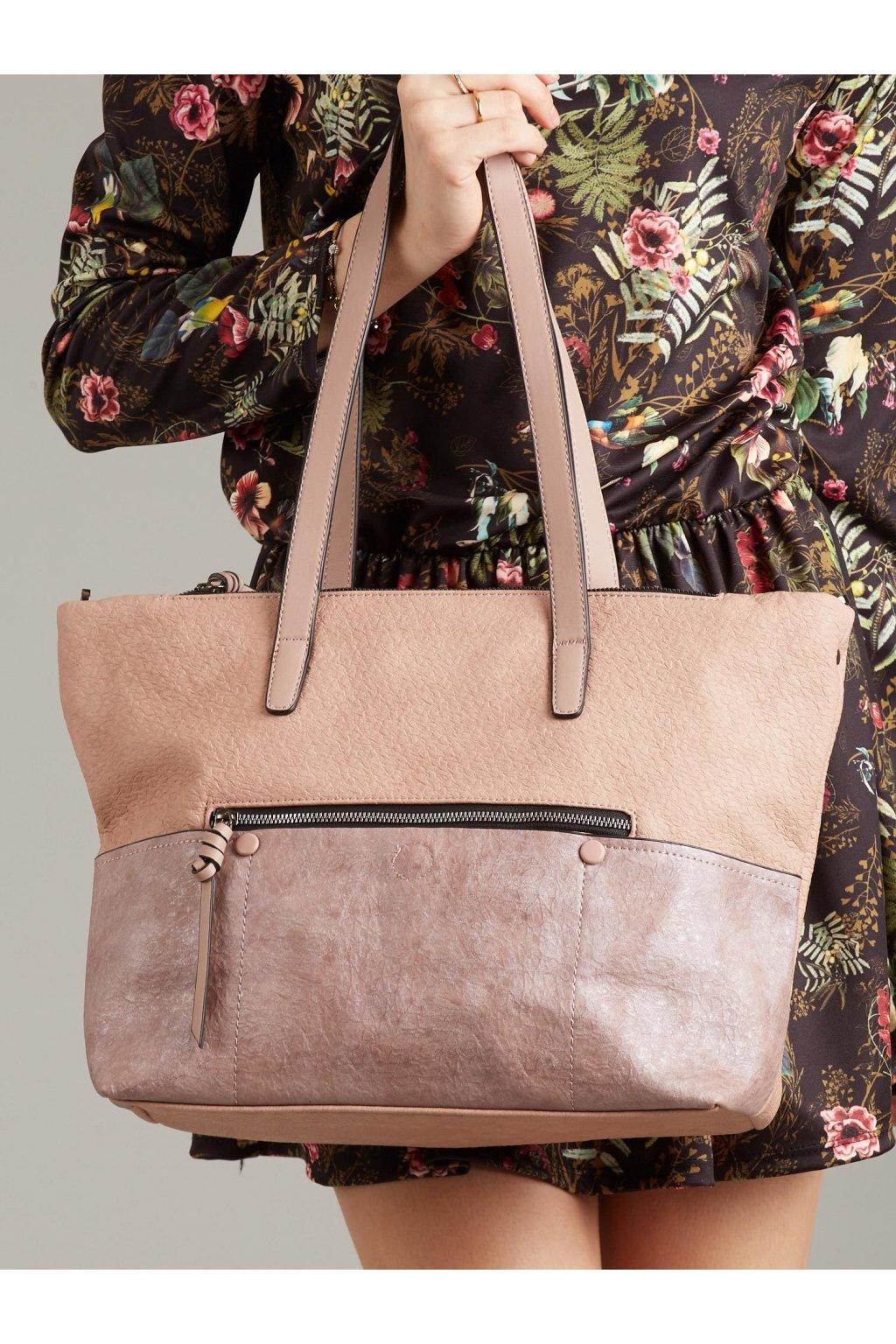 Shopper kabelka ružová kód OW-TR-3724-BB.61