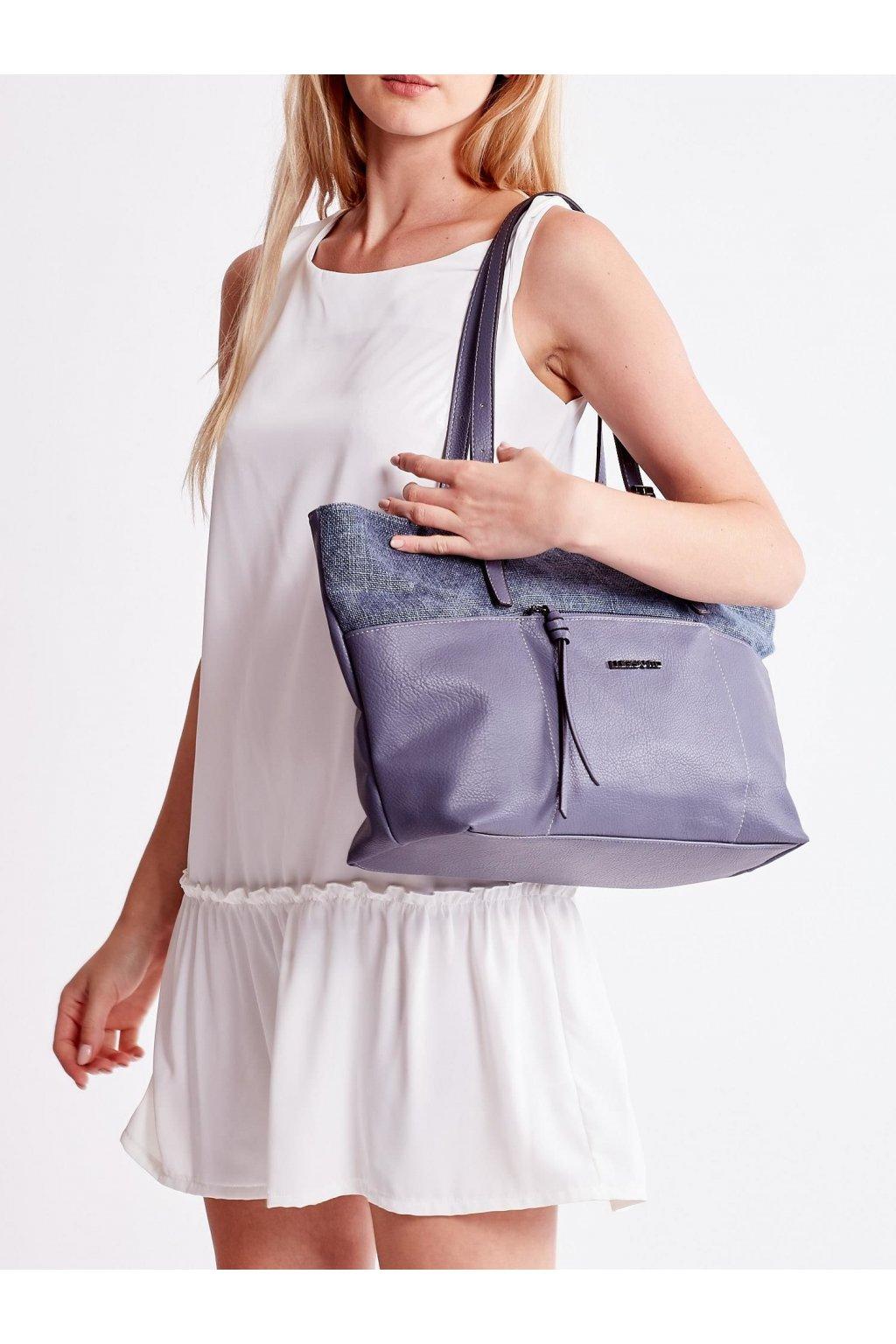 Shopper kabelka modrá kód OW-TR-5737-2.89