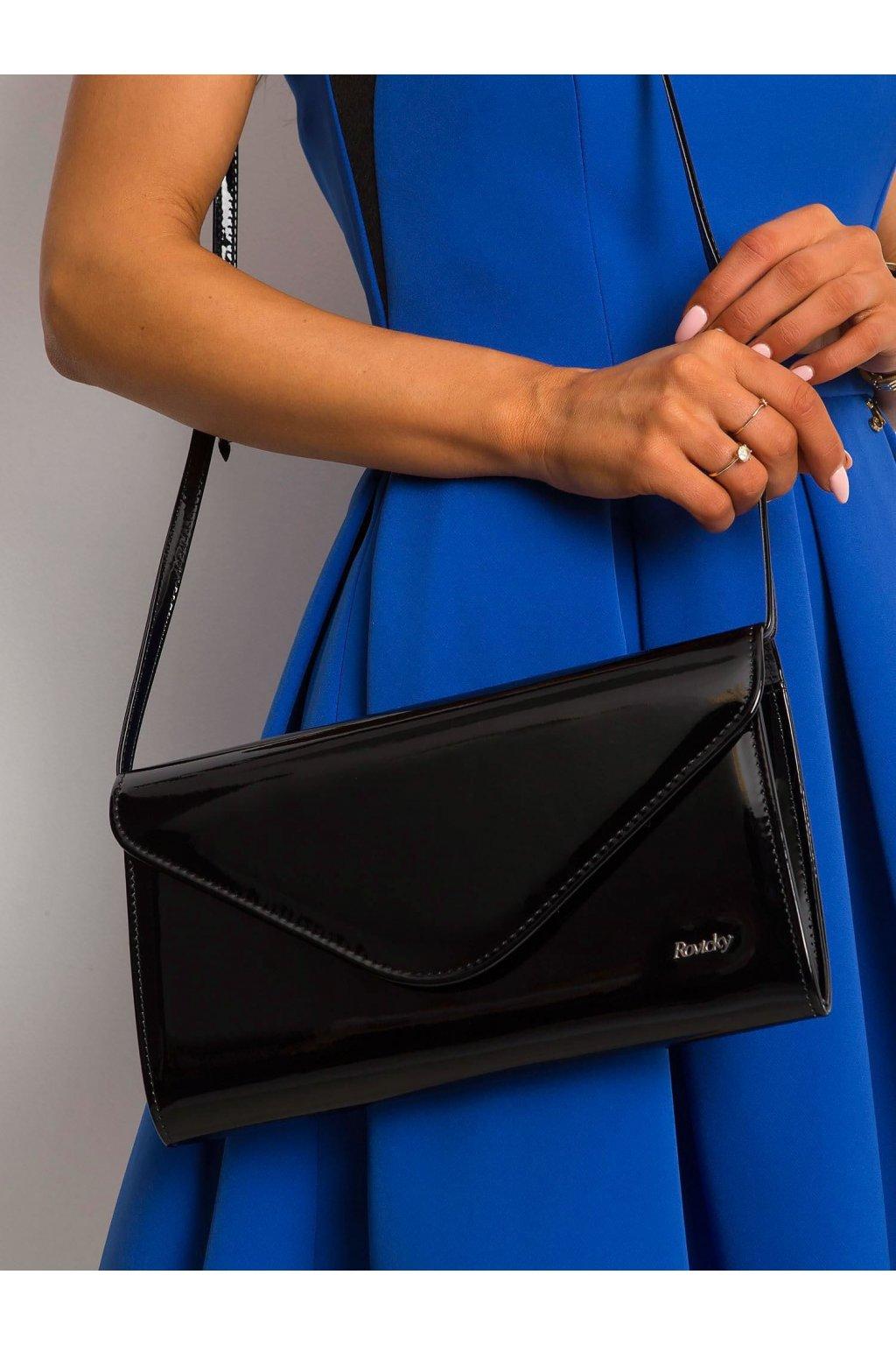 Listová kabelka čierna kód W25-lak-100.68P
