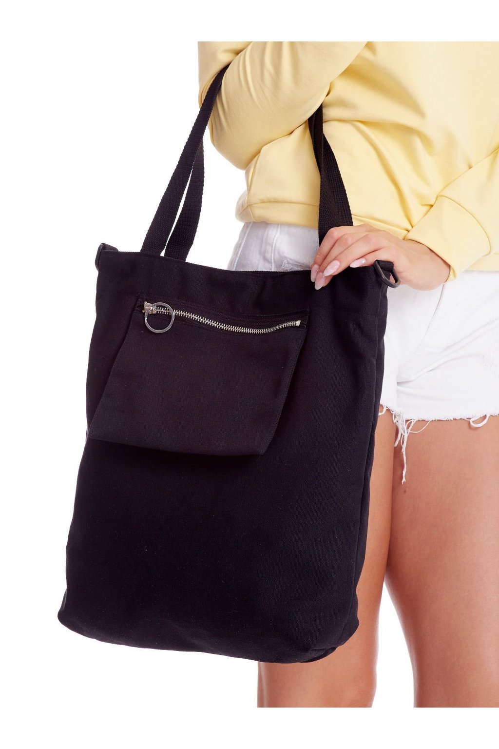 Textílna kabelka čierna kód YP-TR-DX4109.00