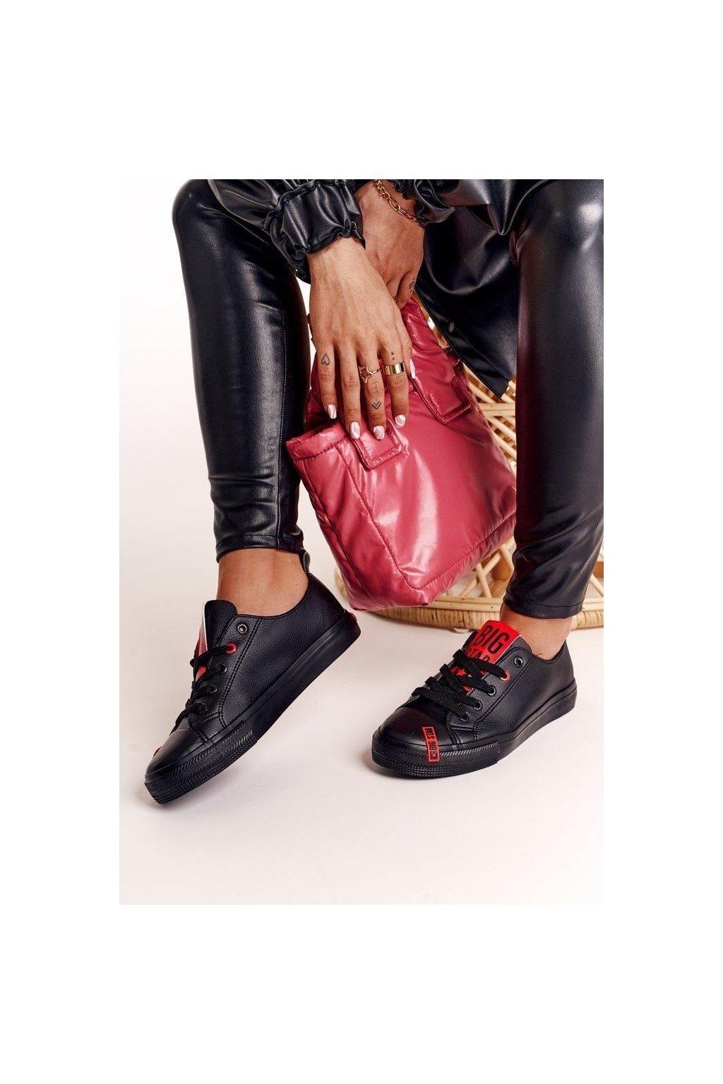 Dámske tenisky farba čierna kód obuvi EE274303 BLACK