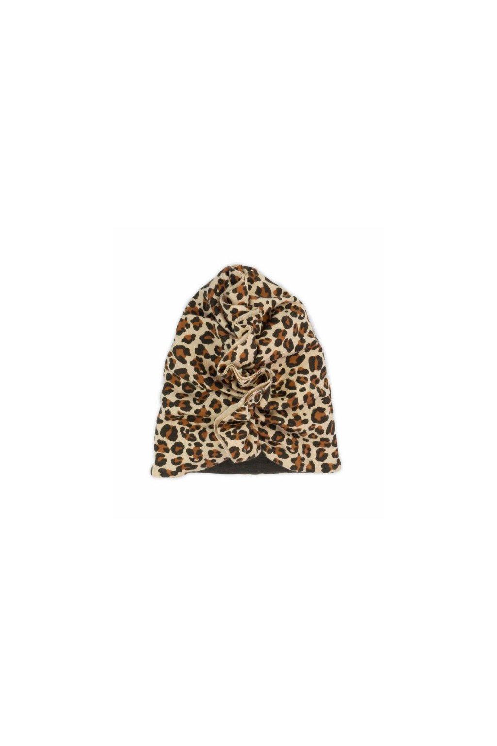 Dievčenská čiapočka-turban Nicol Mia