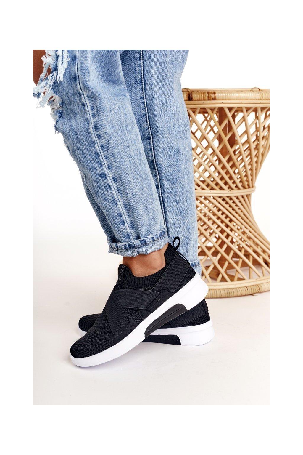 Dámske tenisky farba čierna kód obuvi FF274890 BLACK