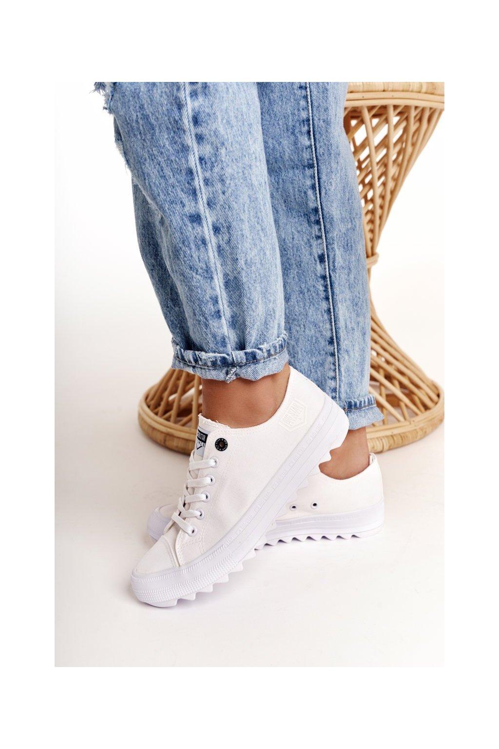 Dámske tenisky farba biela kód obuvi FF274245 WHITE