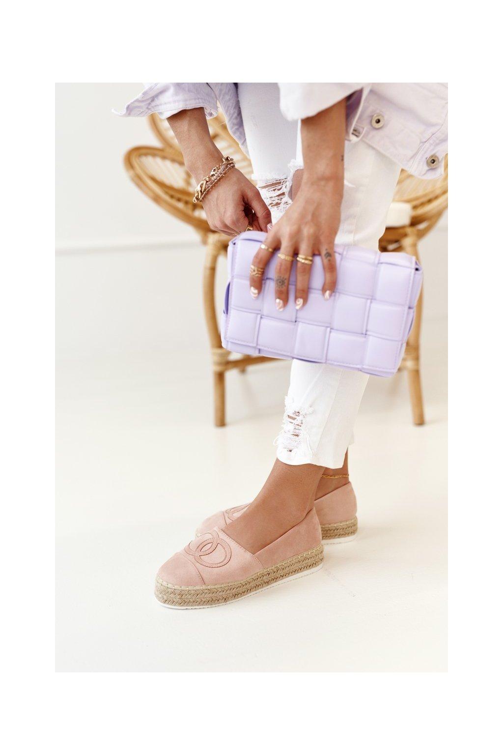 Dámske tenisky farba ružová kód obuvi T379P PINK