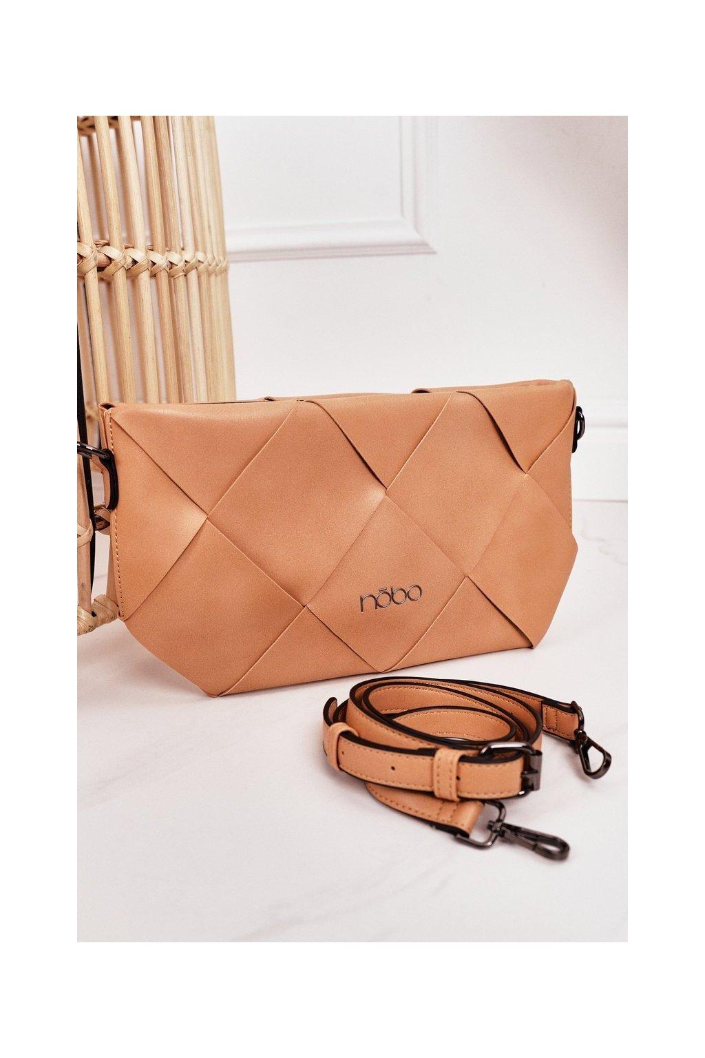 Dámska kabelka hnedá kód kabelky NBAG-K1260-C015 BEIGE