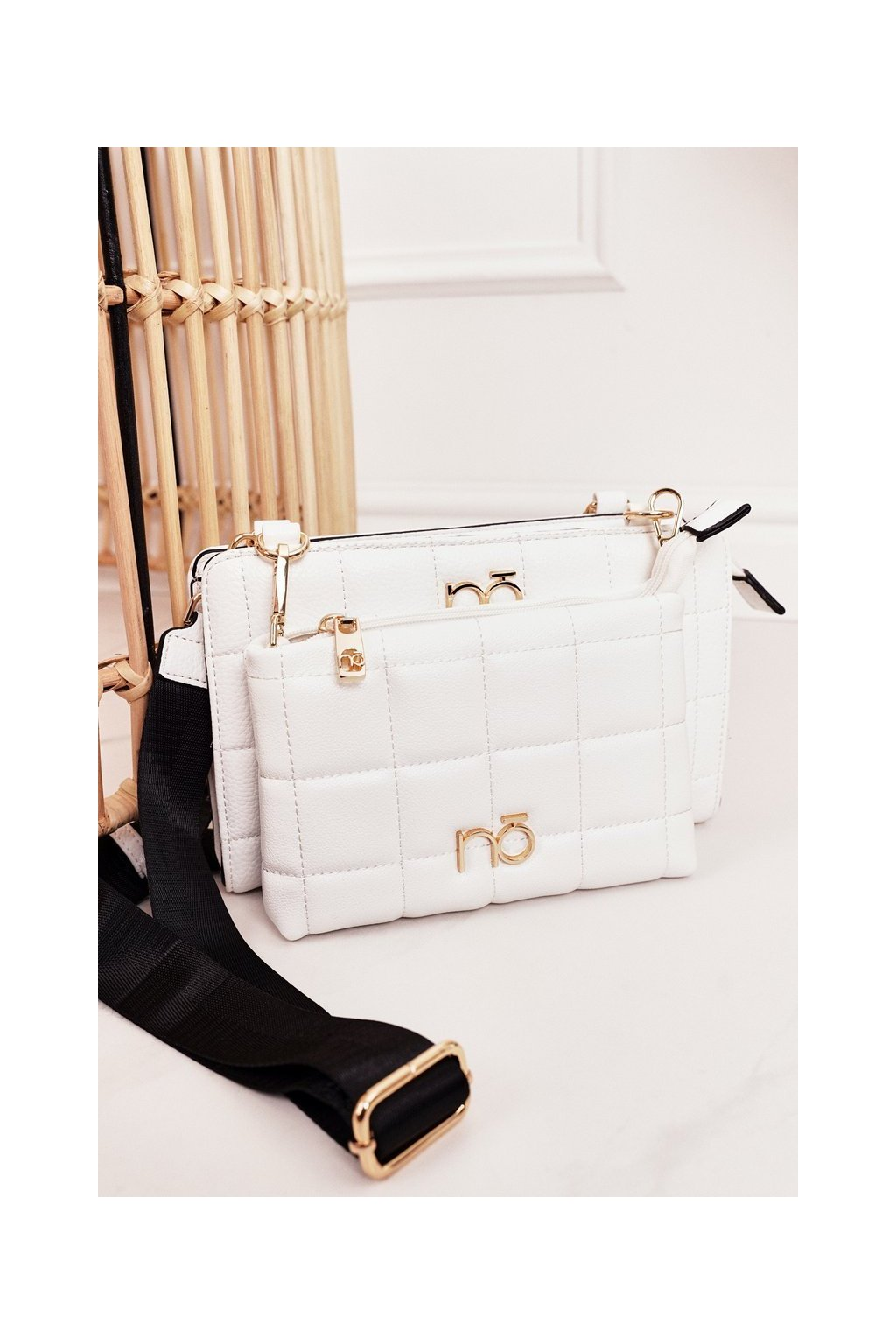 Dámska kabelka biela kód kabelky NBAG-K1300-C000 WHITE